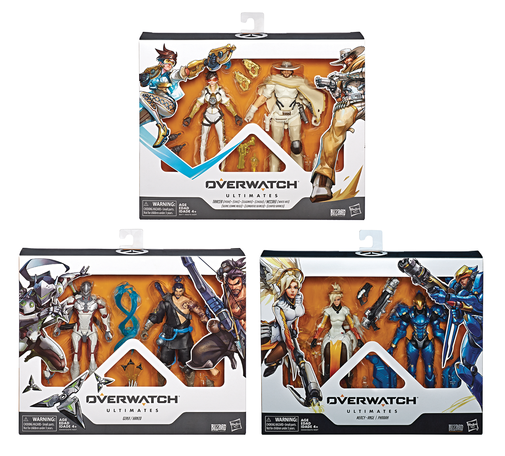 OVERWATCH ULTIMATES 6IN AF DUAL PACK ASST 201902