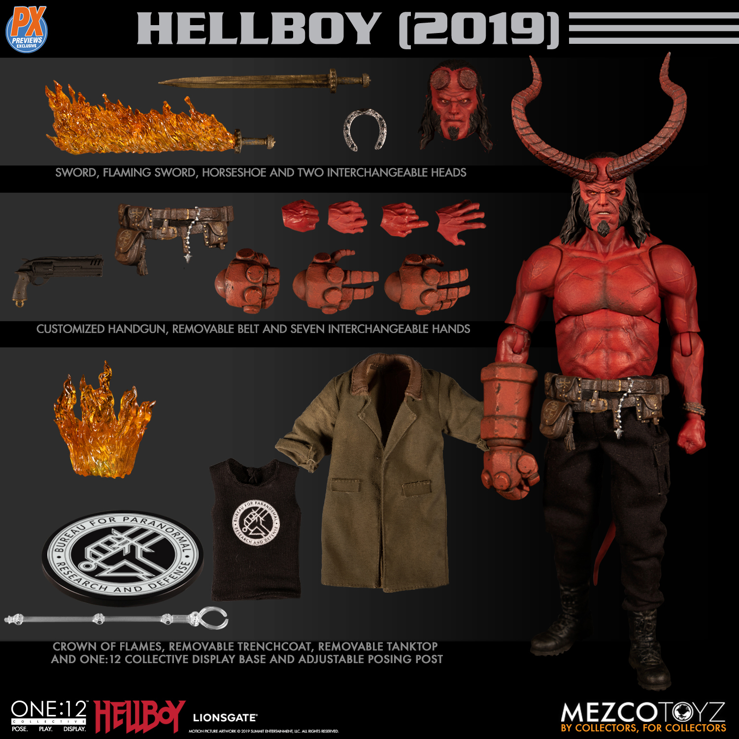 ONE-12 COLLECTIVE PX HELLBOY 2019 ANUNG UN RAMA EDITION AF (
