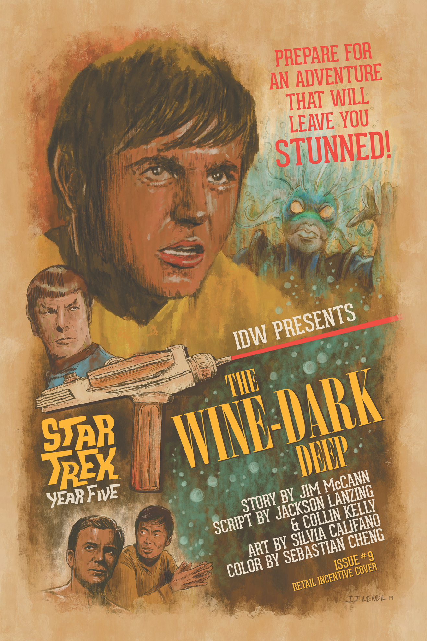 STAR TREK YEAR FIVE #9 10 COPY INCV LENDL