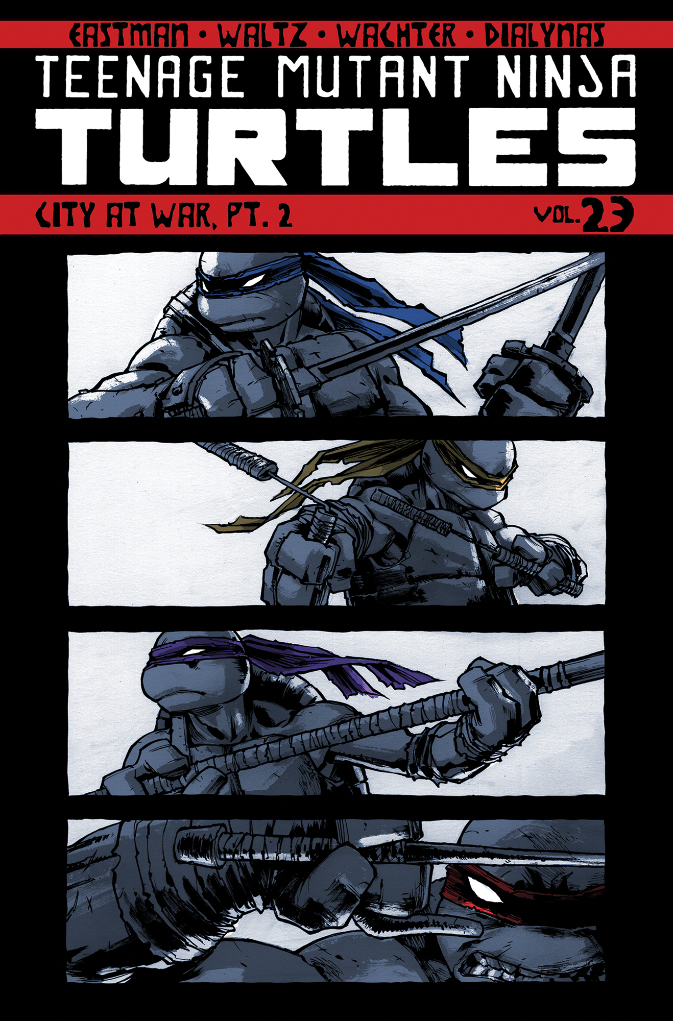 TMNT ONGOING TP VOL 23 CITY AT WAR PT 2