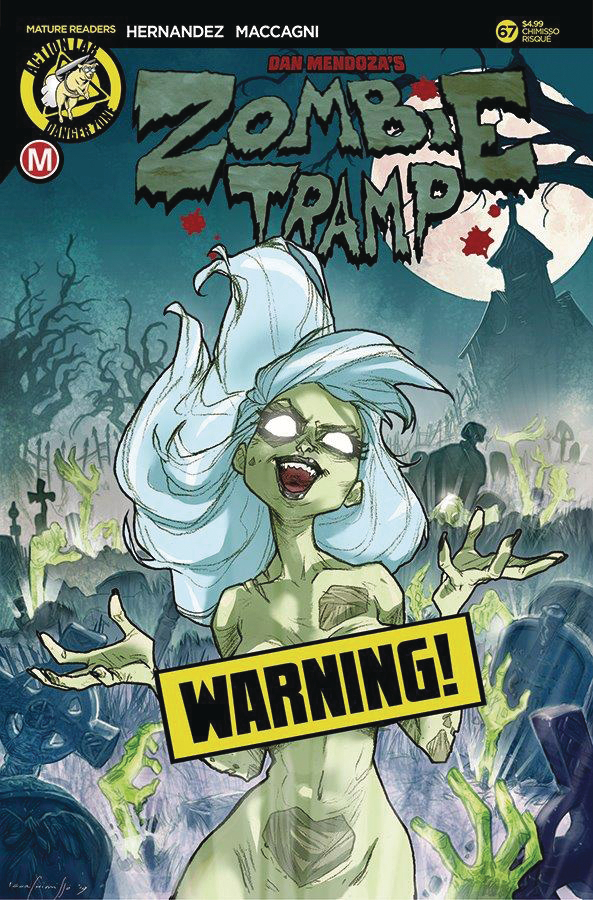 ZOMBIE TRAMP ONGOING #67 CVR D CHIMISSO RISQUE (MR)