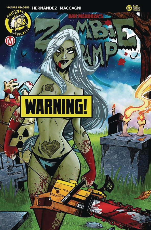 ZOMBIE TRAMP ONGOING #67 CVR F TROM RISQUE (MR)