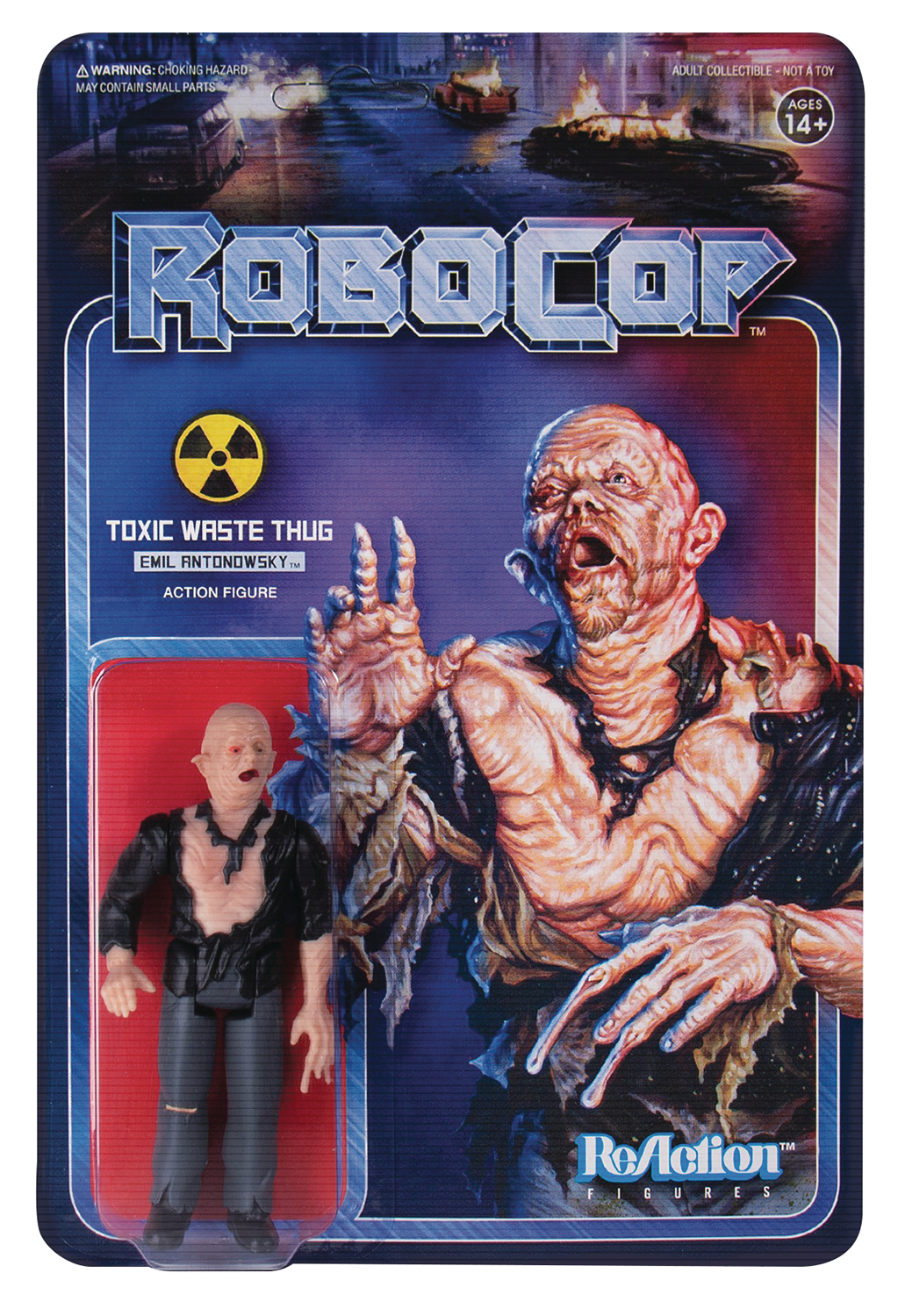 ROBOCOP TOXIC WASTE EMIL ANTONOWSKY REACTION FIGURE  (C