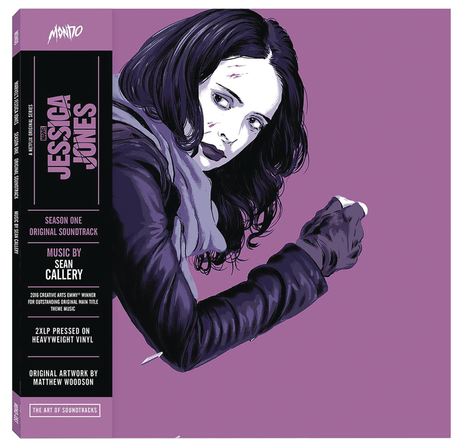 MARVELS JESSICA JONES SEASON ONE OST 2XLP