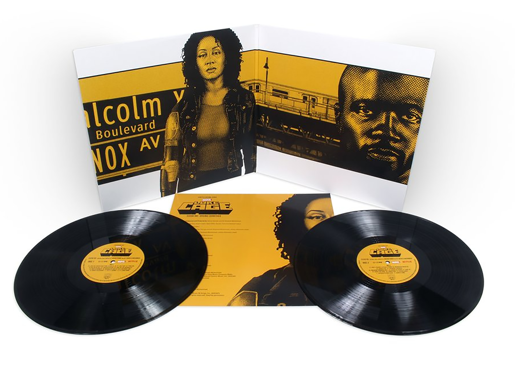 MARVELS LUKE CAGE SEASON TWO OST 2XLP