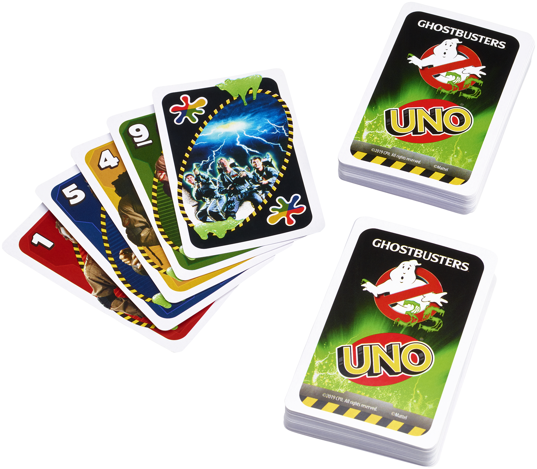 UNO GHOSTBUSTERS CARD GAME CS