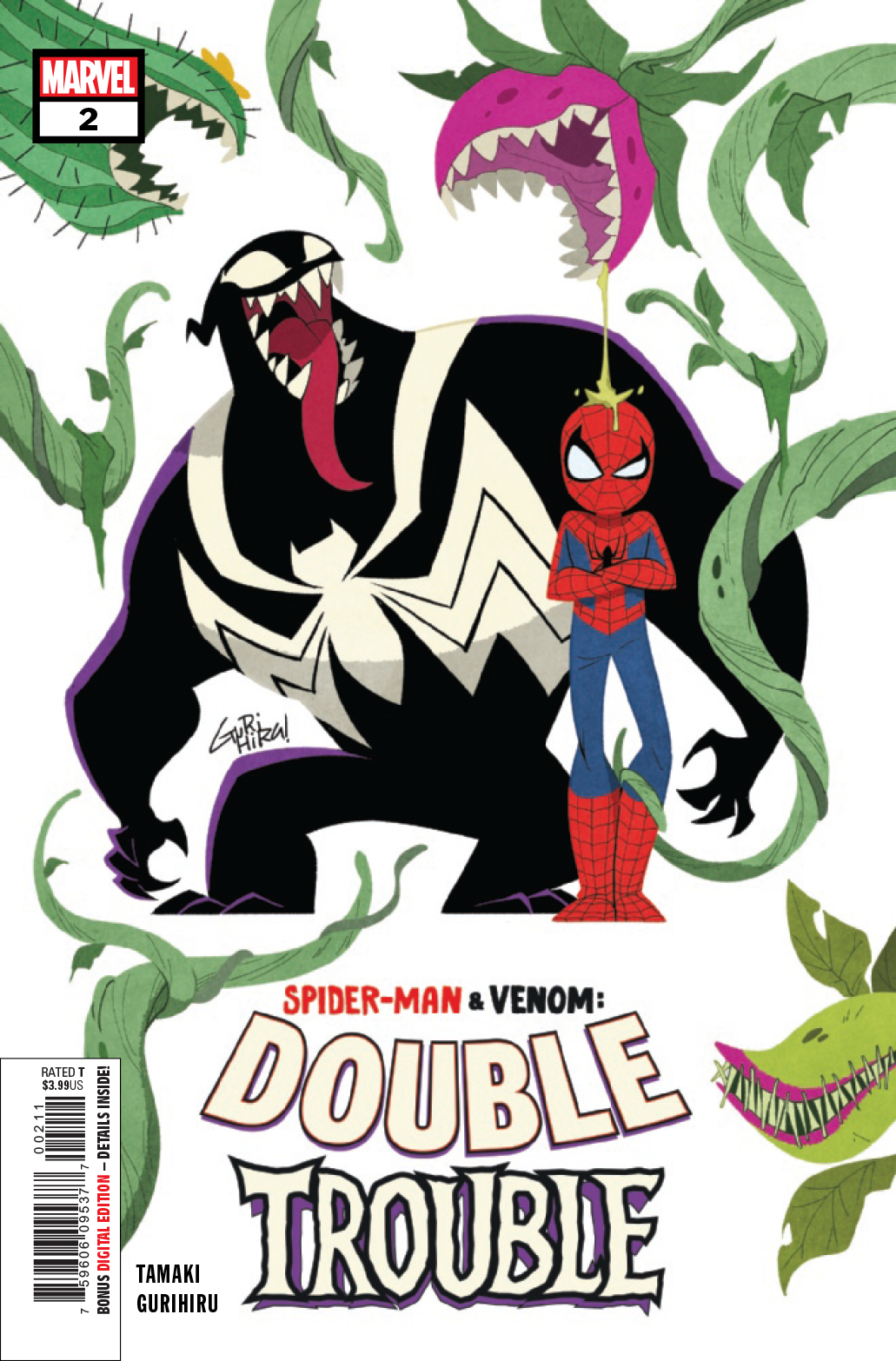 SPIDER-MAN & VENOM DOUBLE TROUBLE #2 (OF 4)