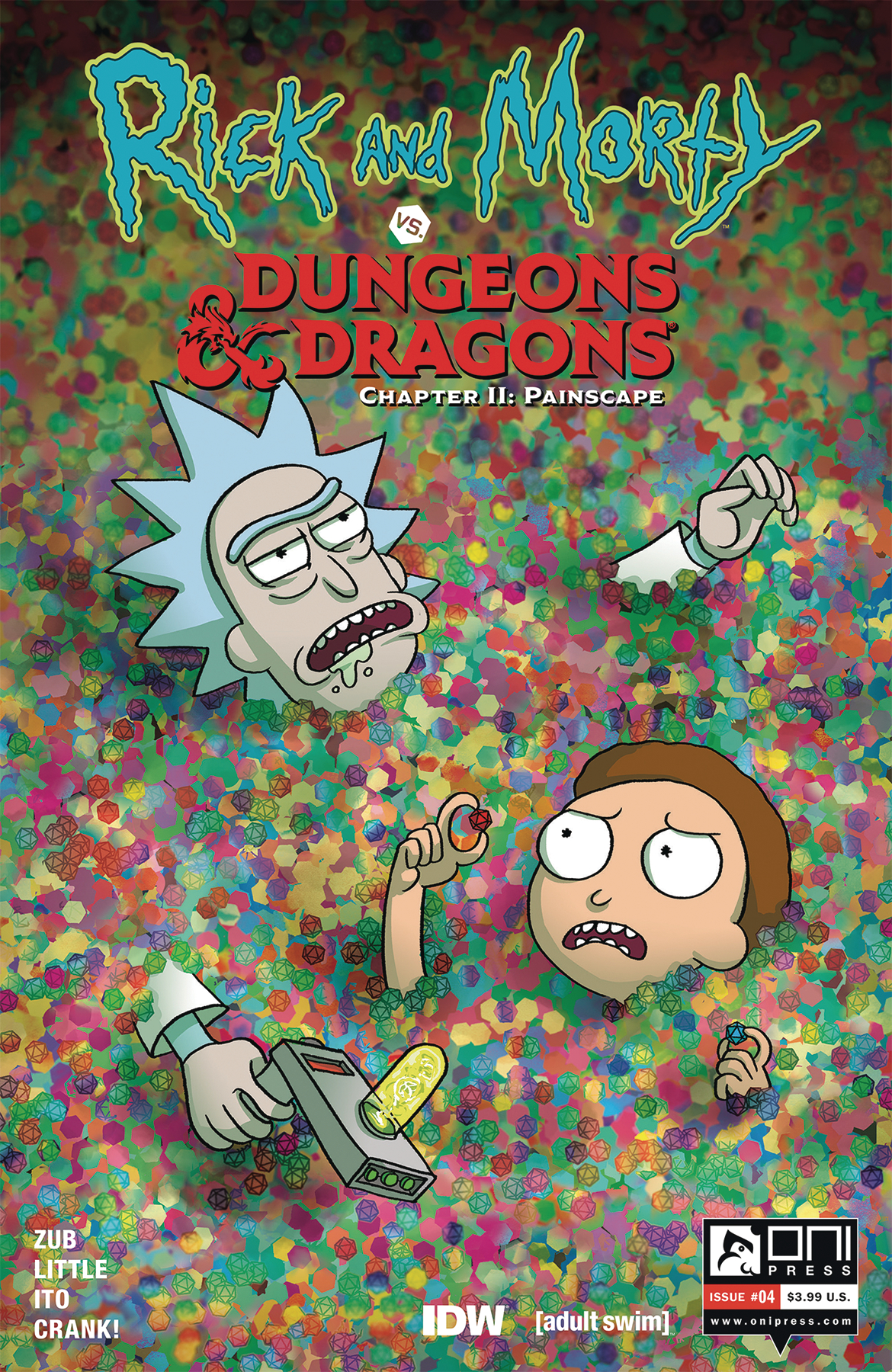 RICK & MORTY VS D&D II PAINSCAPE #4 CVR B WELLS