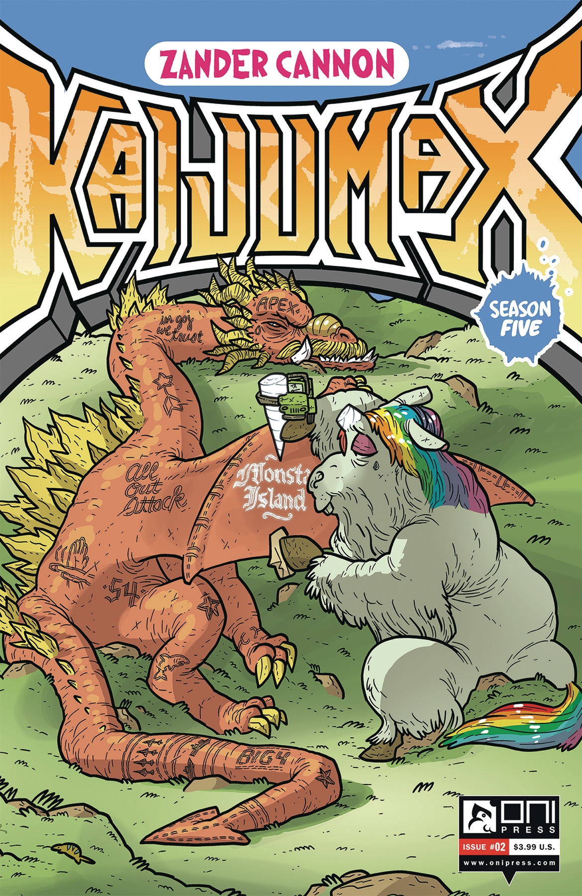 KAIJUMAX SEASON 5 #2 (MR)