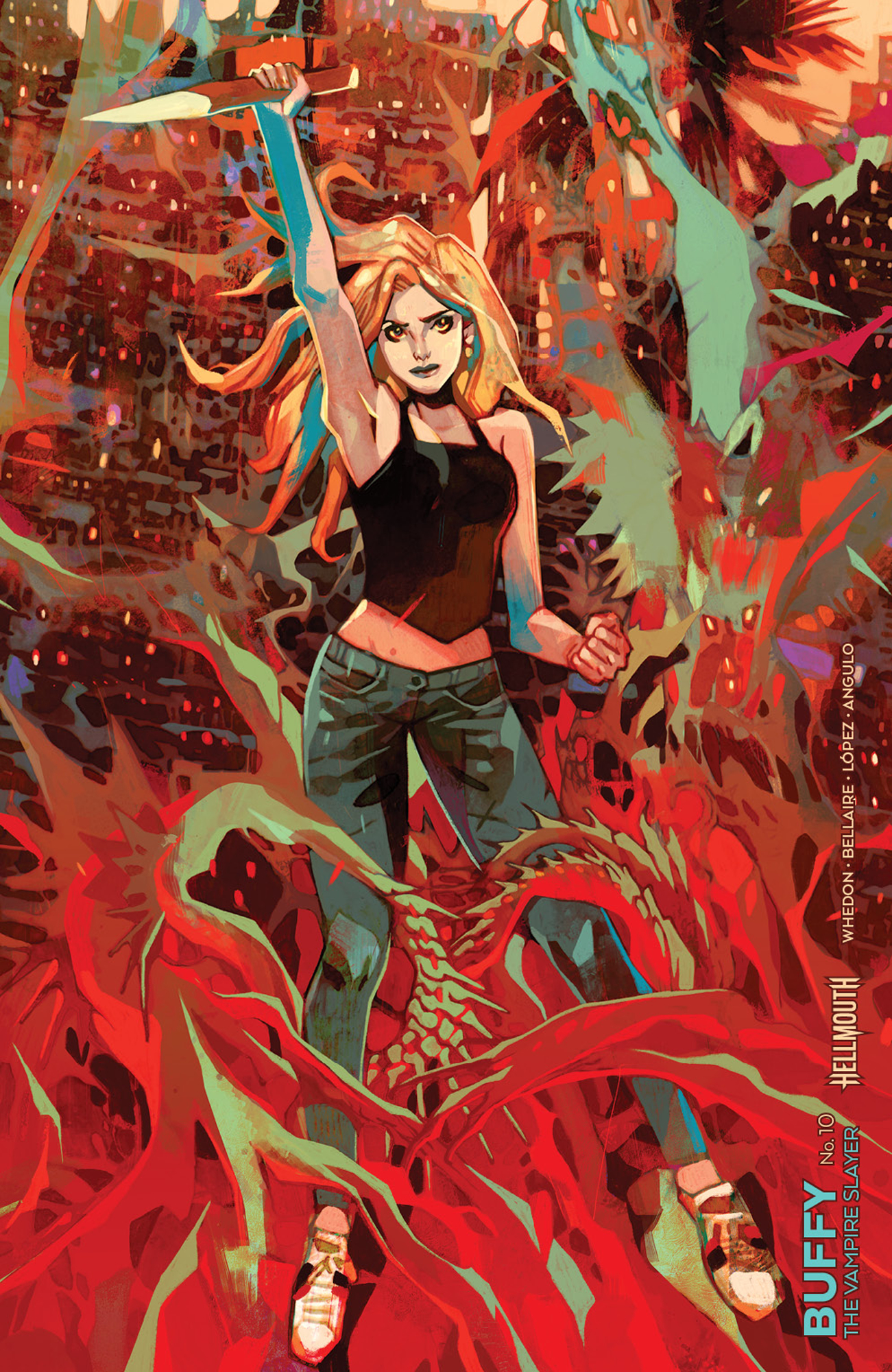BUFFY THE VAMPIRE SLAYER #10 CVR C CONNECTING REBELKA VAR