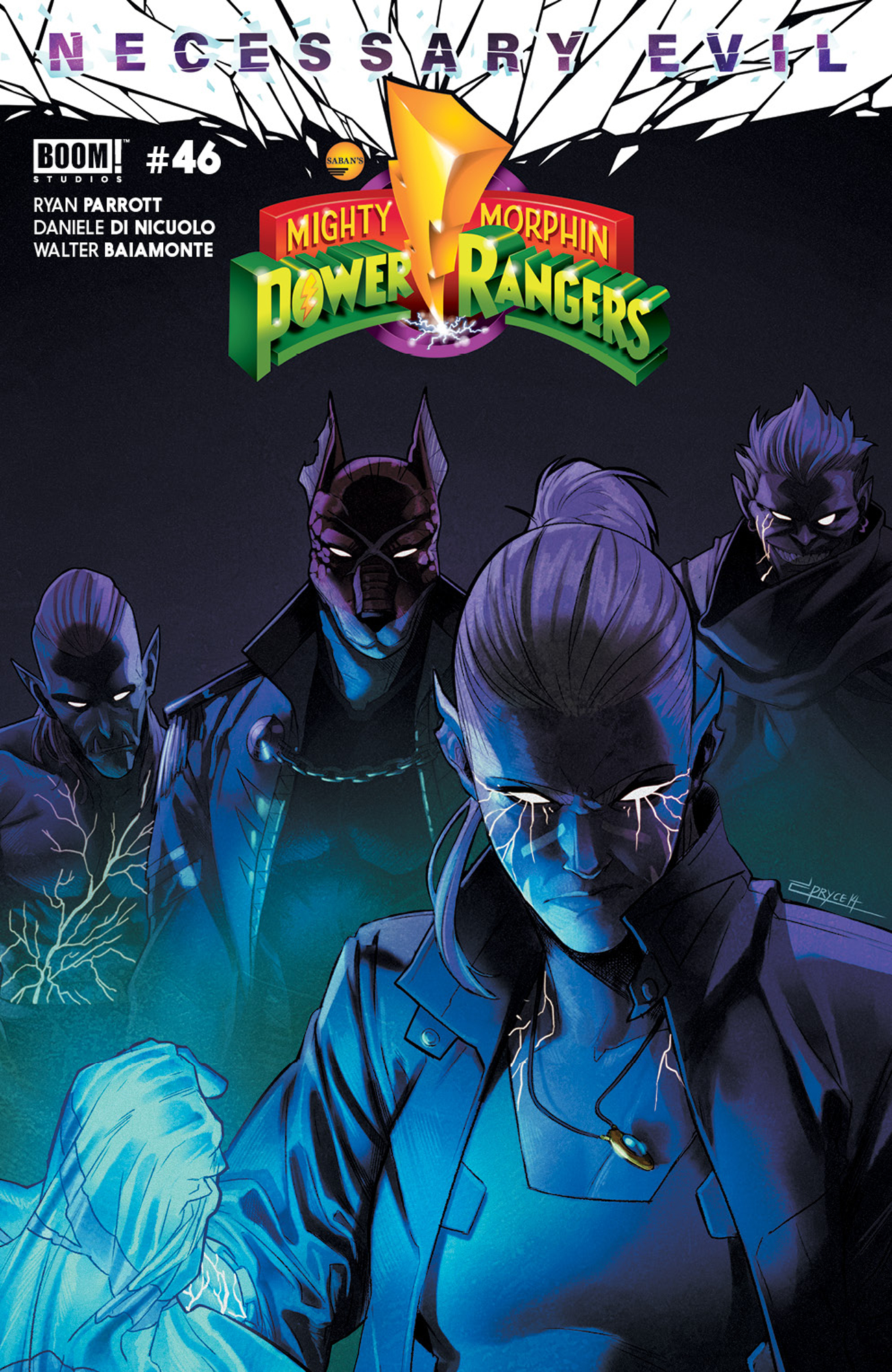 MIGHTY MORPHIN POWER RANGERS #46 CVR A CAMPBELL