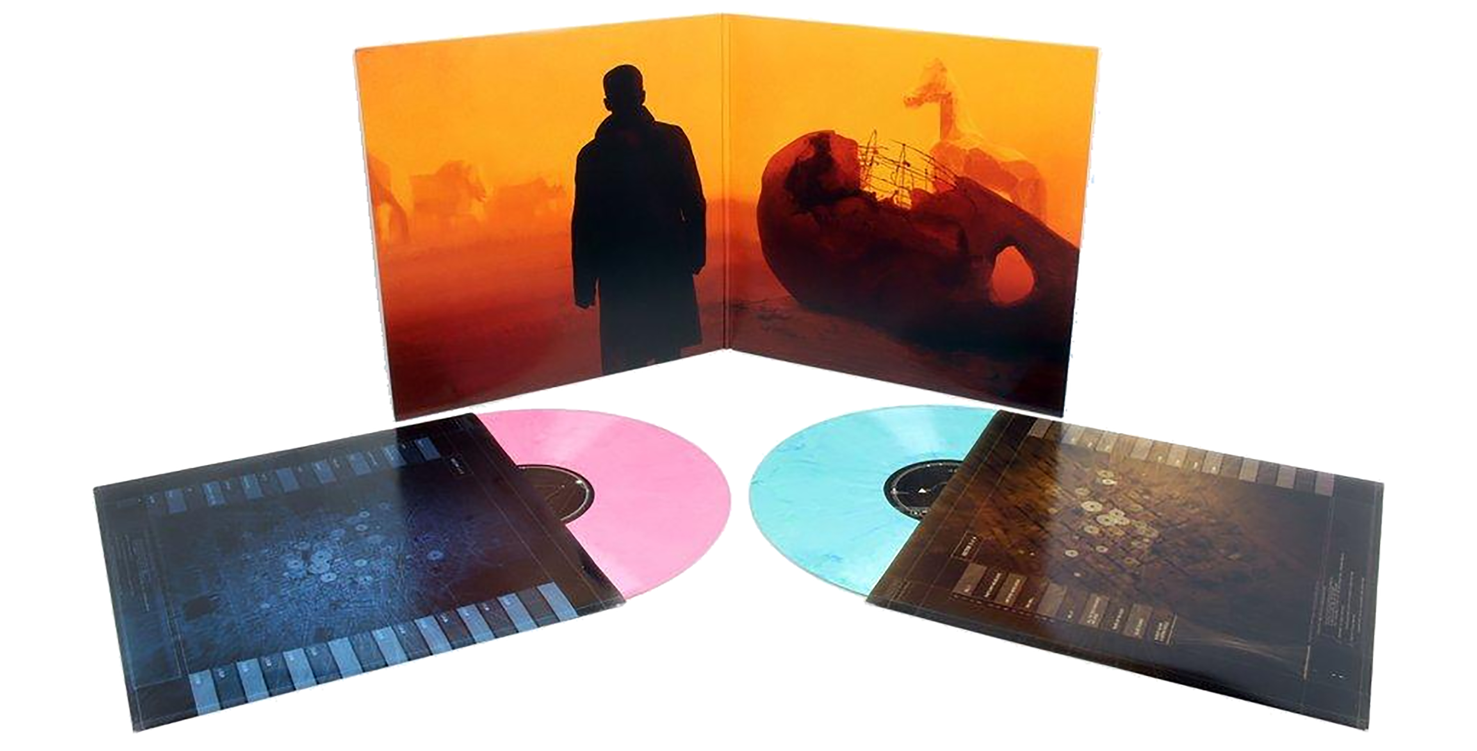 BLADE RUNNER 2049 ORIGINAL MOTION PICTURE SOUNDTRACK 2XLP (N