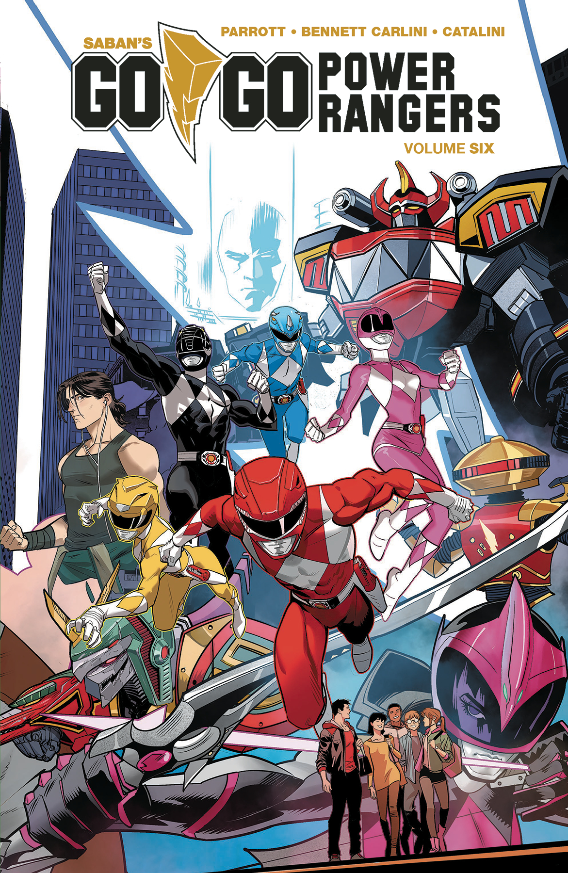 GO GO POWER RANGERS TP VOL 06