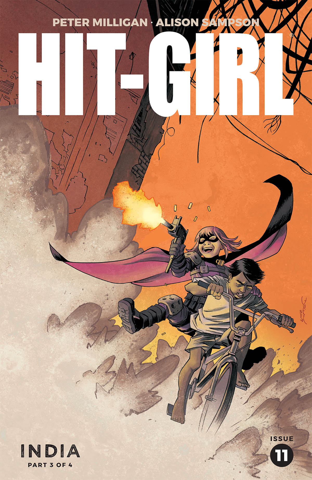 HIT-GIRL SEASON TWO #11 CVR A SHALVEY (MR)