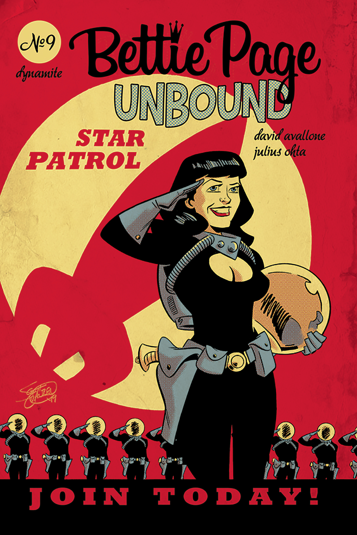 BETTIE PAGE UNBOUND #9 CVR B CHANTLER