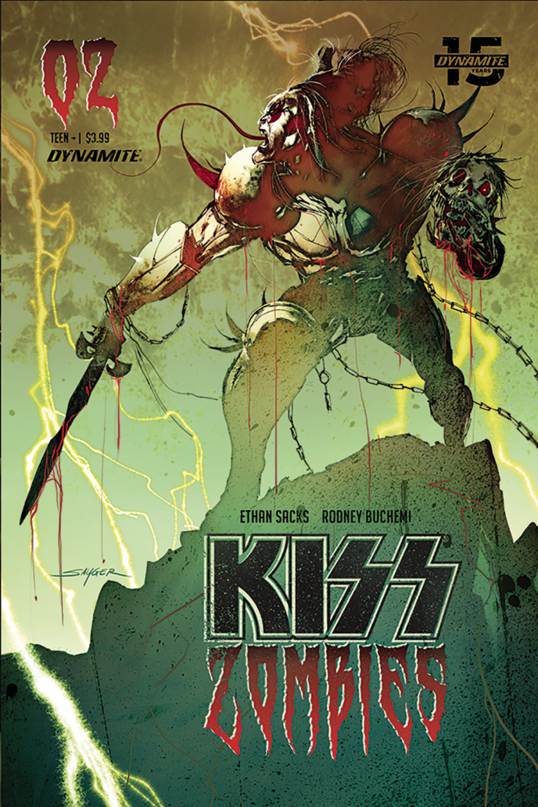 KISS ZOMIBES #2 CVR B SAYGER