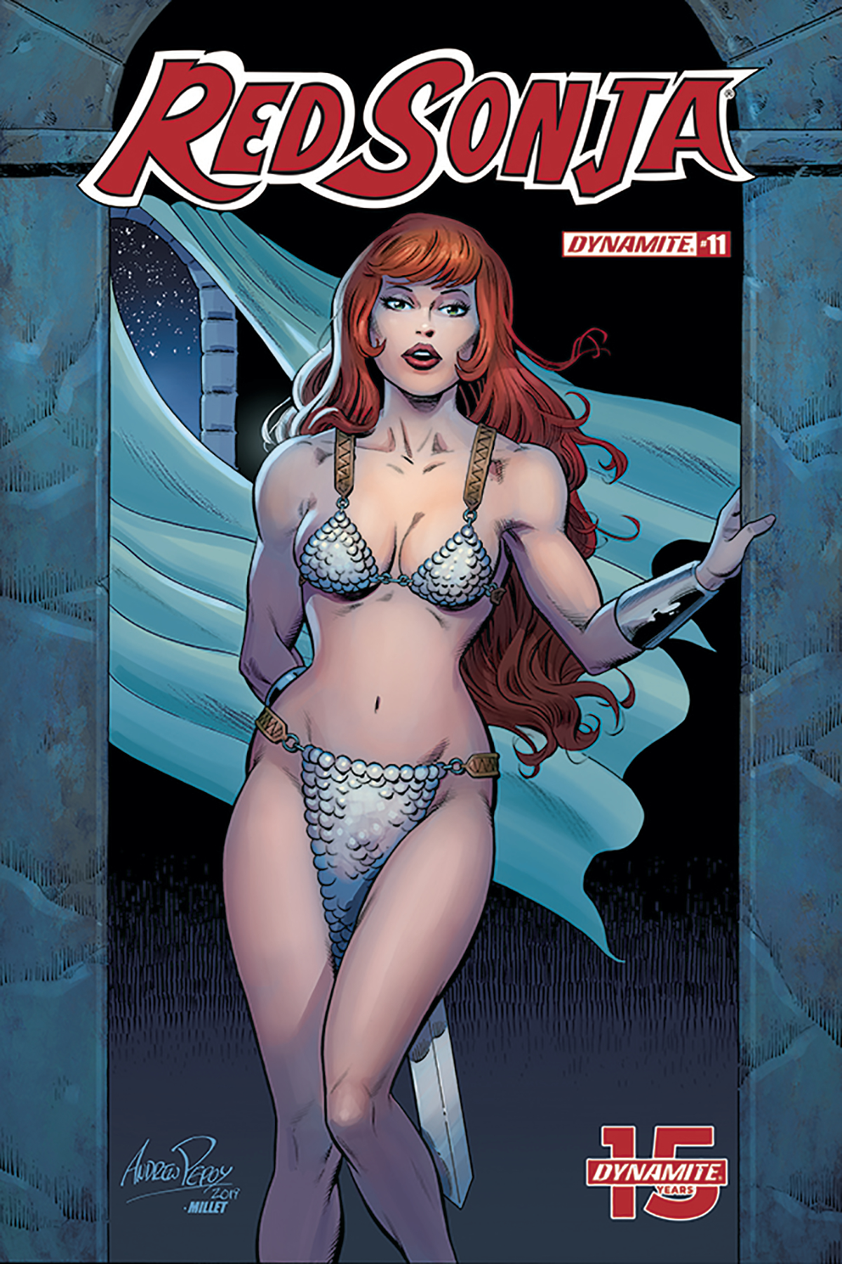 RED SONJA #11 10 COPY PEPOY SEDUCTION INCV