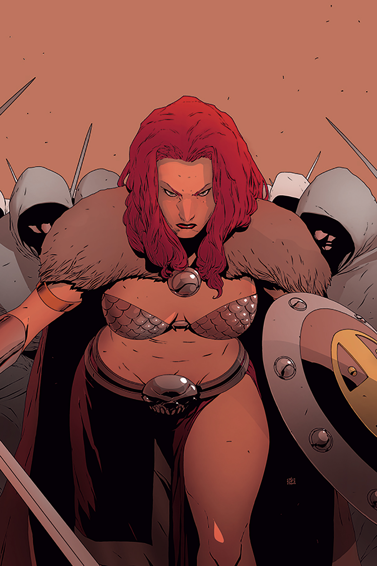 RED SONJA #11 40 COPY PHAM VIRGIN INCV