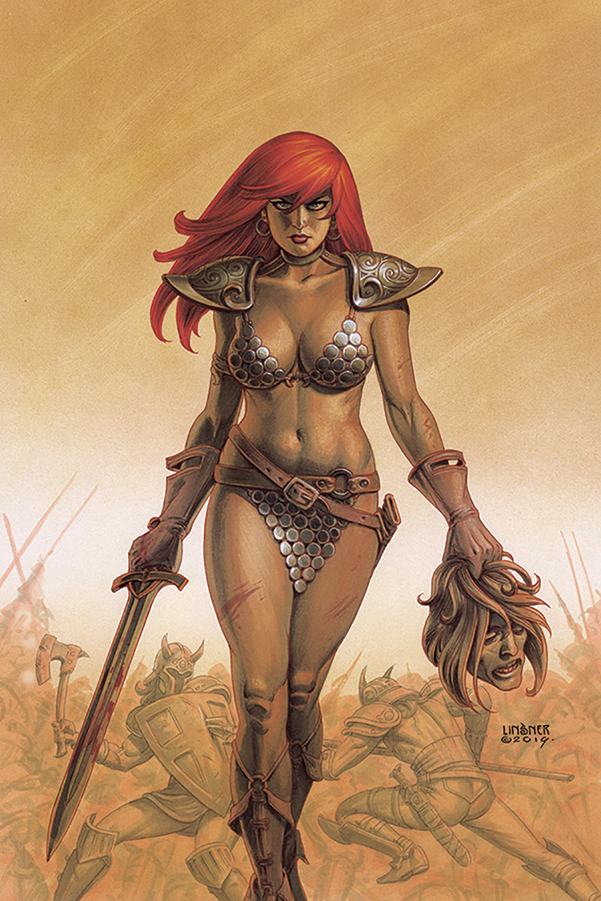 RED SONJA #11 LINSNER VIRGIN CVR