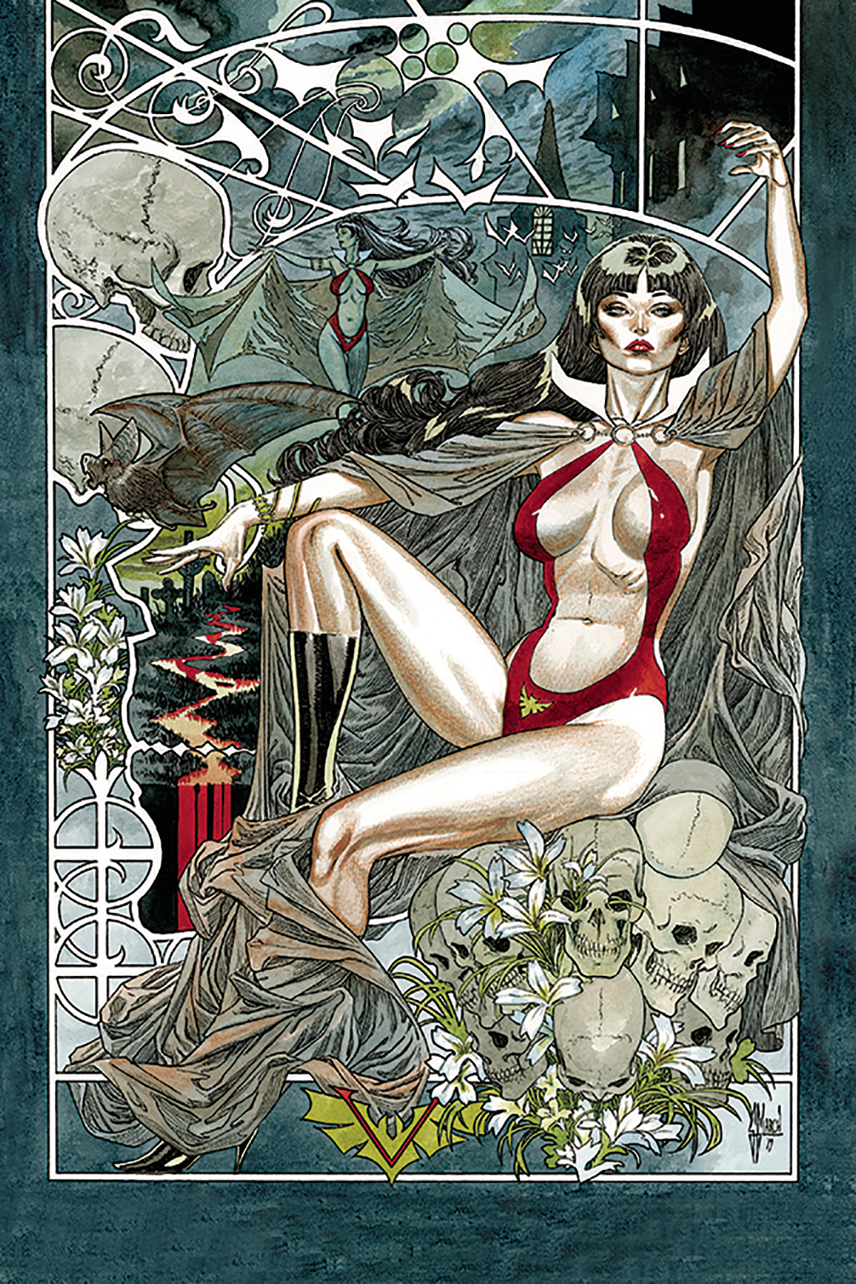 VAMPIRELLA #6 40 COPY MARCH VIRGIN INCV