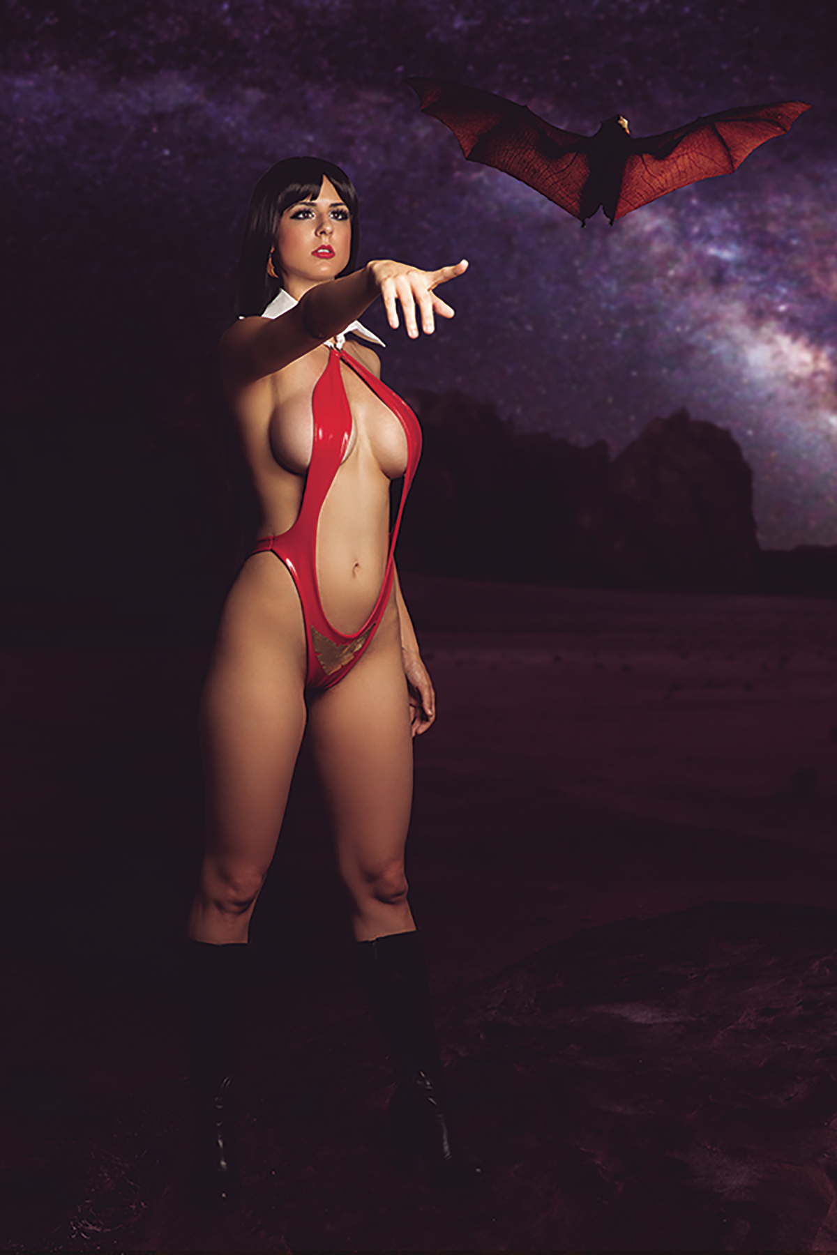 VENGEANCE OF VAMPIRELLA #3 20 COPY COSPLAY VIRGIN INCV