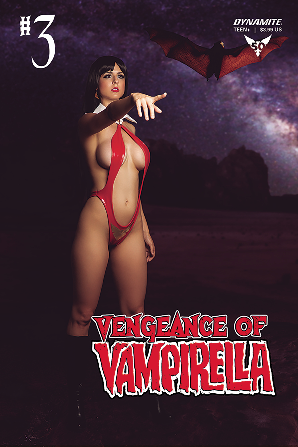 VENGEANCE OF VAMPIRELLA #3 CVR D COSPLAY