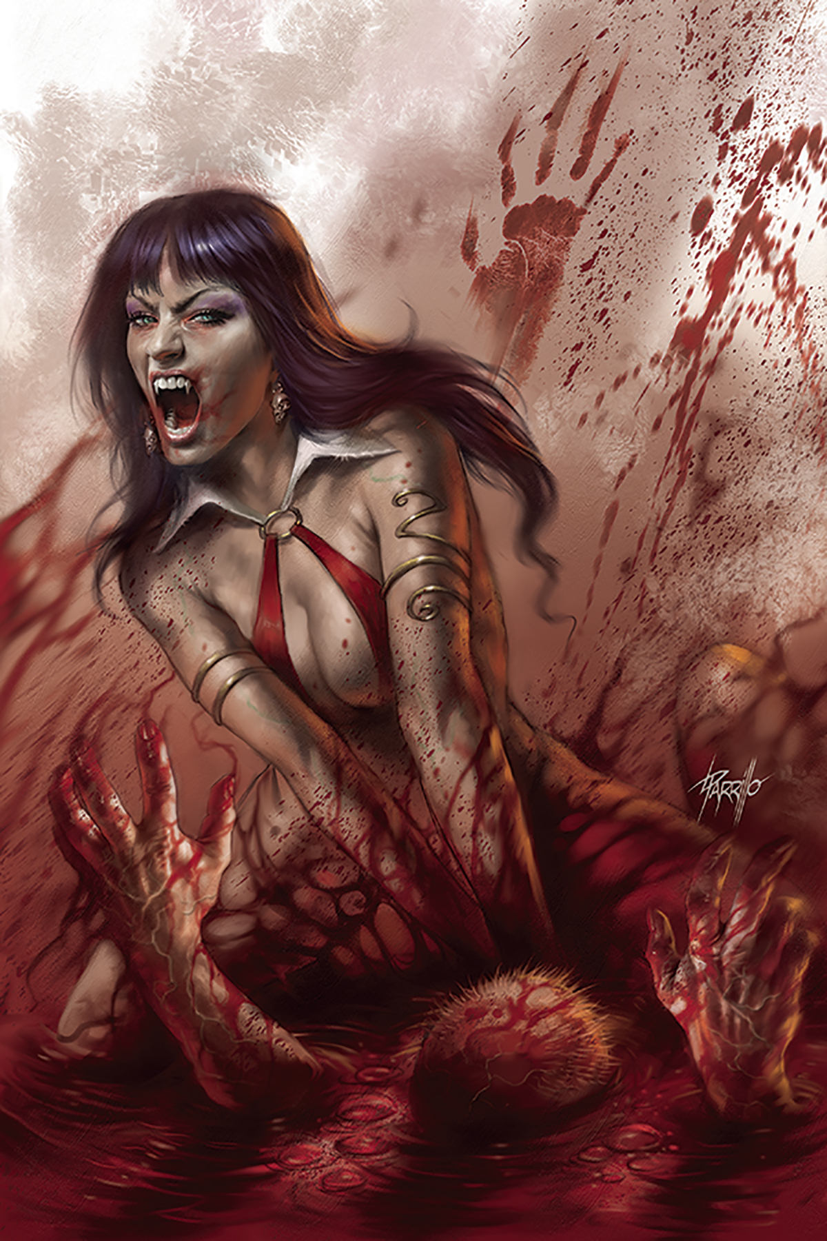 VENGEANCE OF VAMPIRELLA #3 PARRILLO LTD VIRGIN CVR