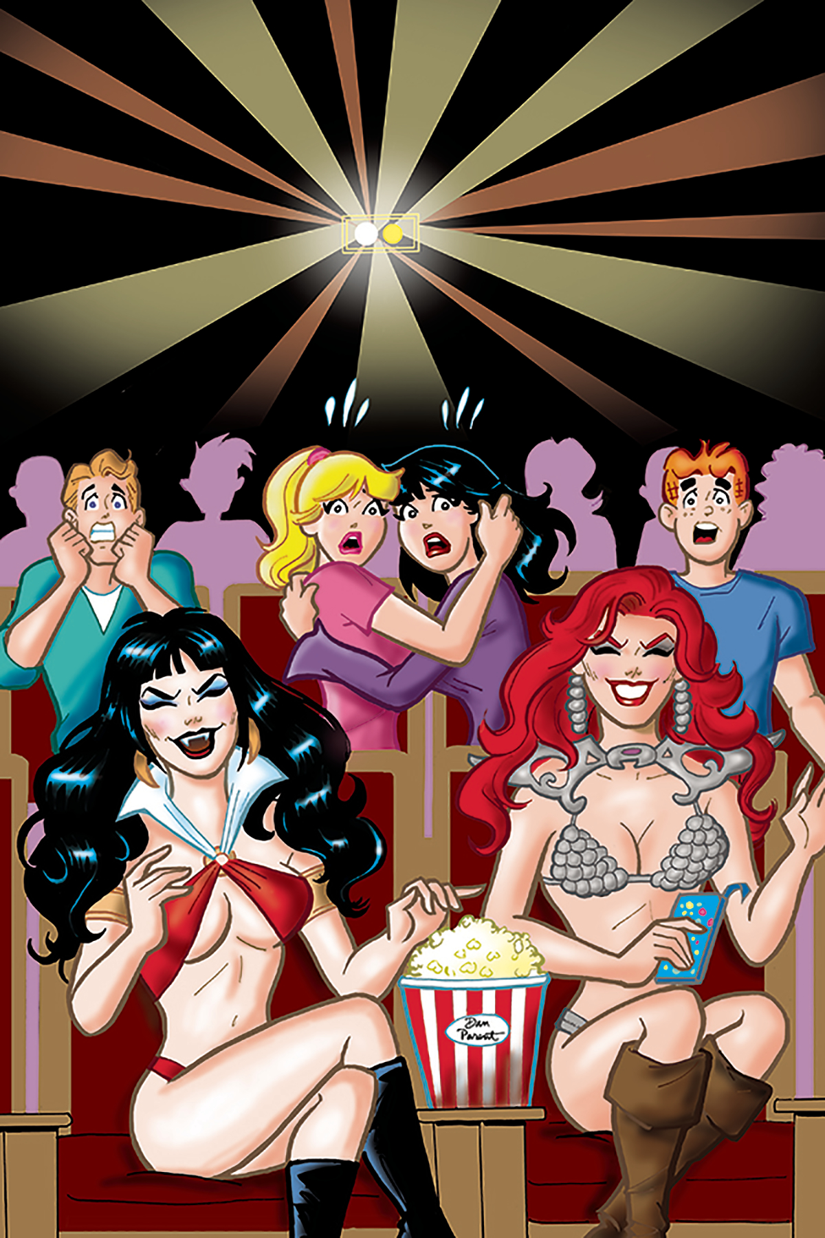 RED SONJA VAMPIRELLA BETTY VERONICA #7 40 COPY PARENT VIRGIN