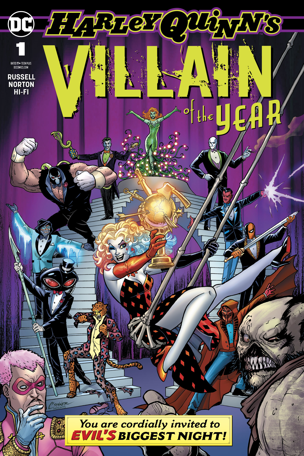 HARLEY QUINN VILLAIN OF THE YEAR #1