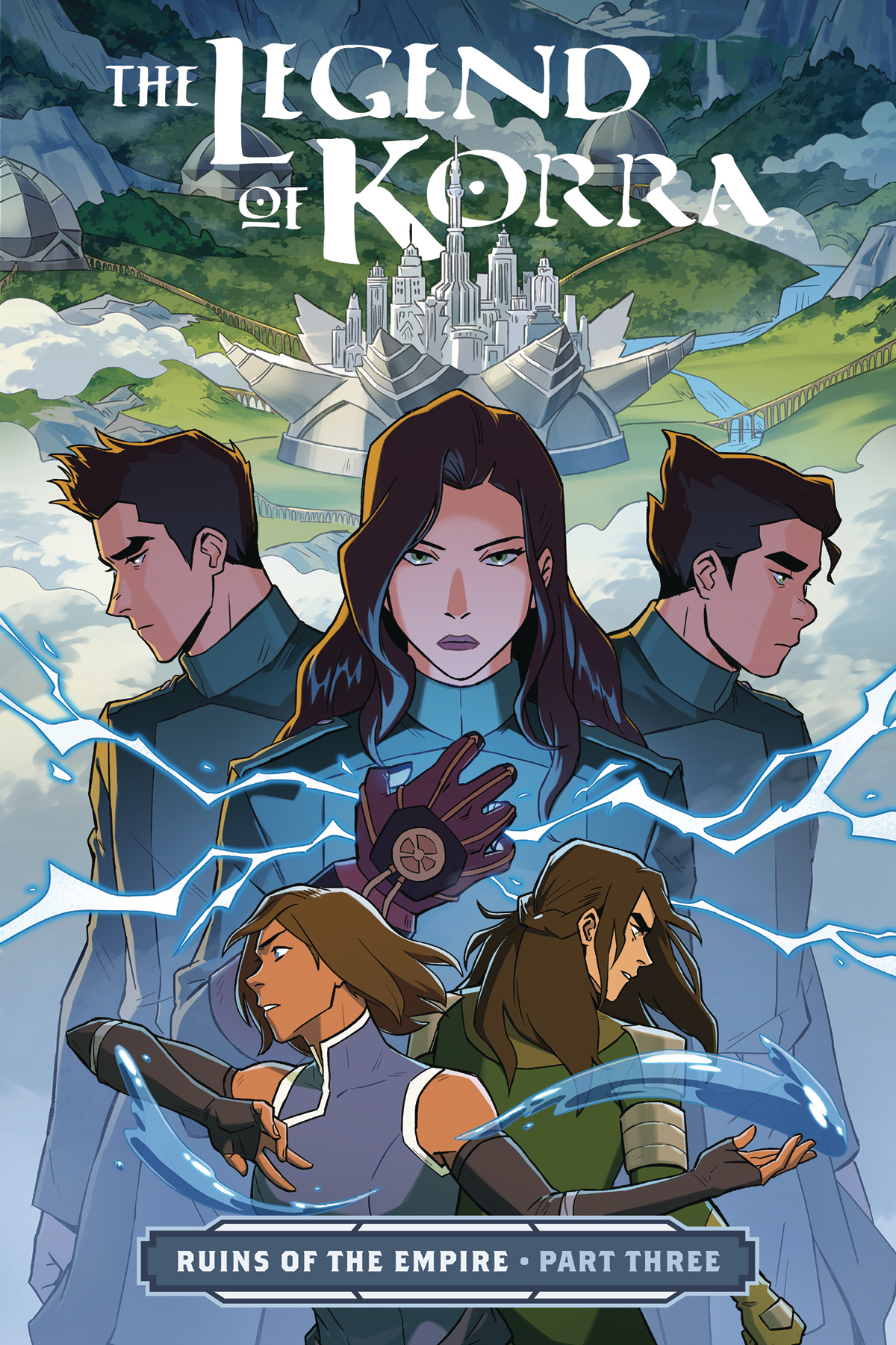 LEGEND OF KORRA TP PART 03 RUINS OF EMPIRE