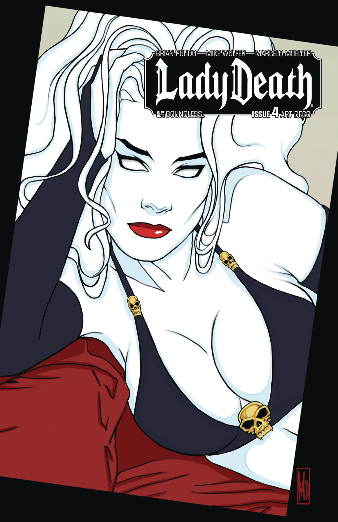 LADY DEATH #4 ART DECO VARIANT