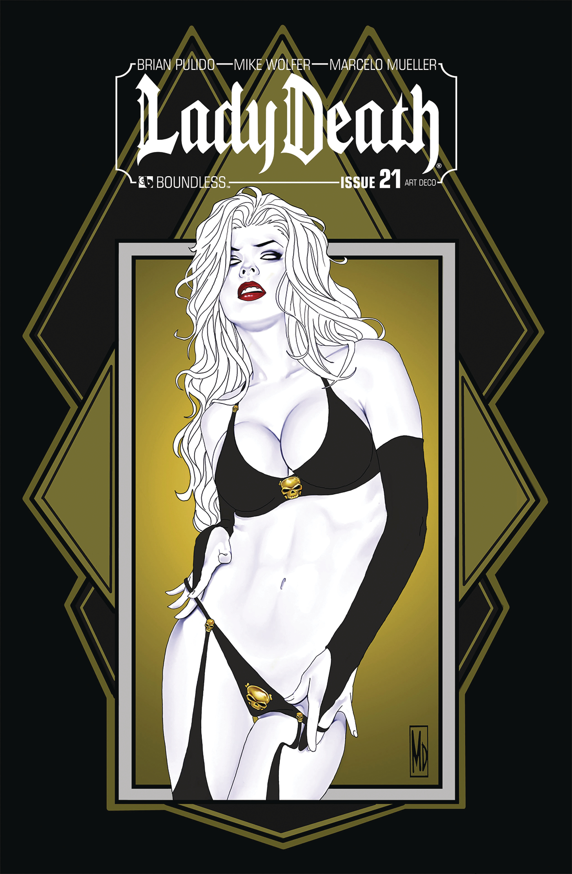 LADY DEATH #21 ART DECO VARIANT