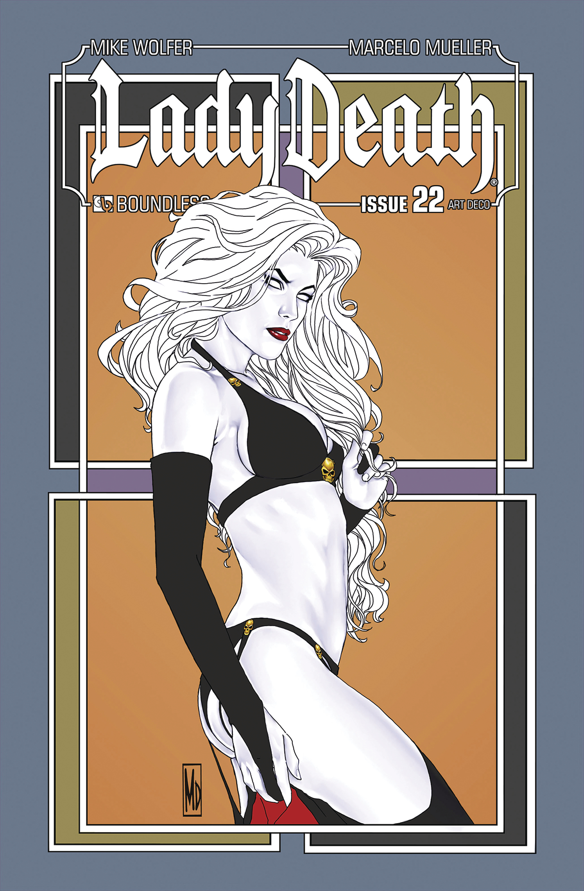 LADY DEATH #22 ART DECO VARIANT