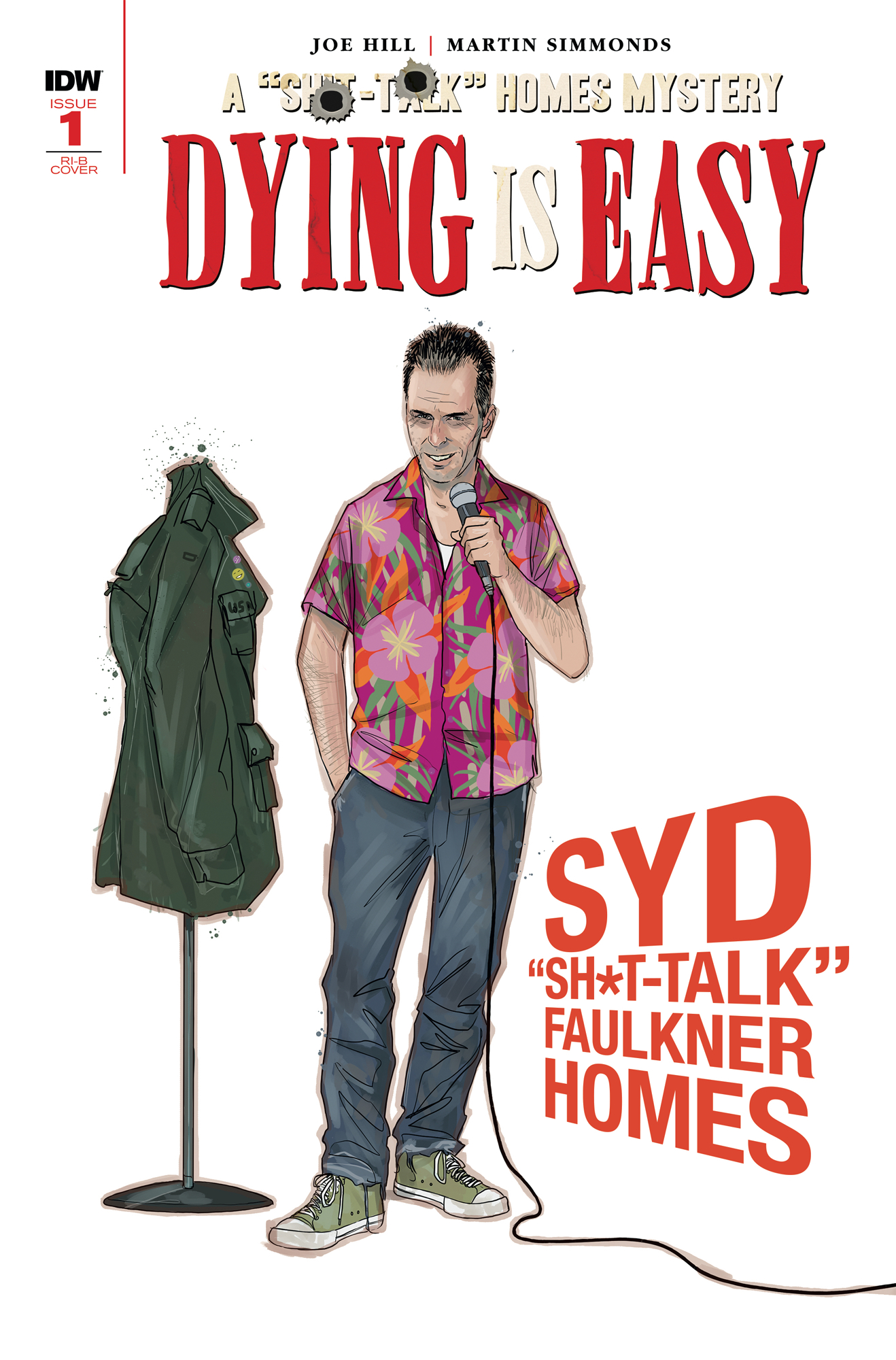 DYING IS EASY #1 (OF 5) 25 COPY INCV CHARACTER WRAP (Net)