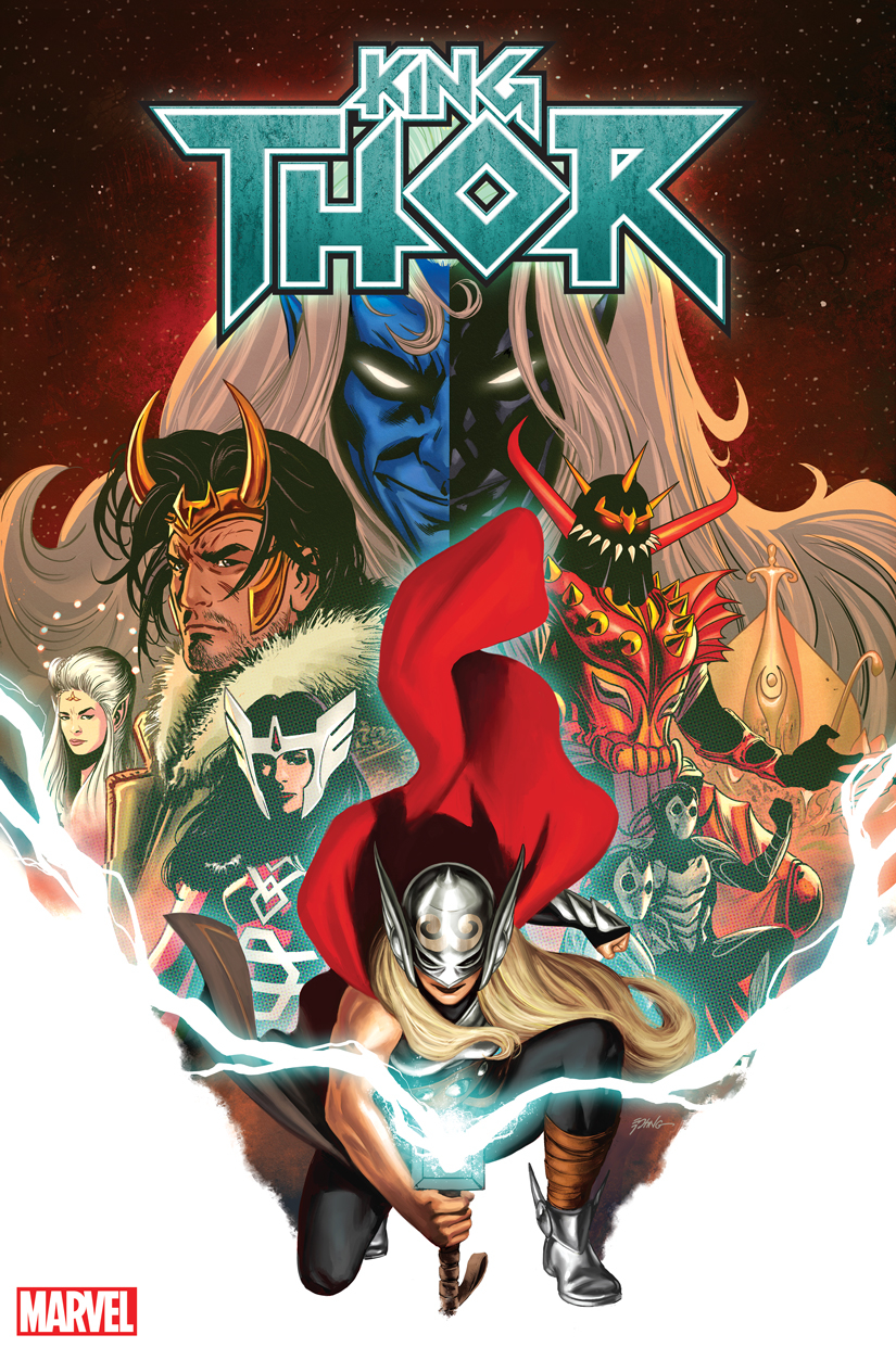 KING THOR #4 (OF 4) EPTING VAR