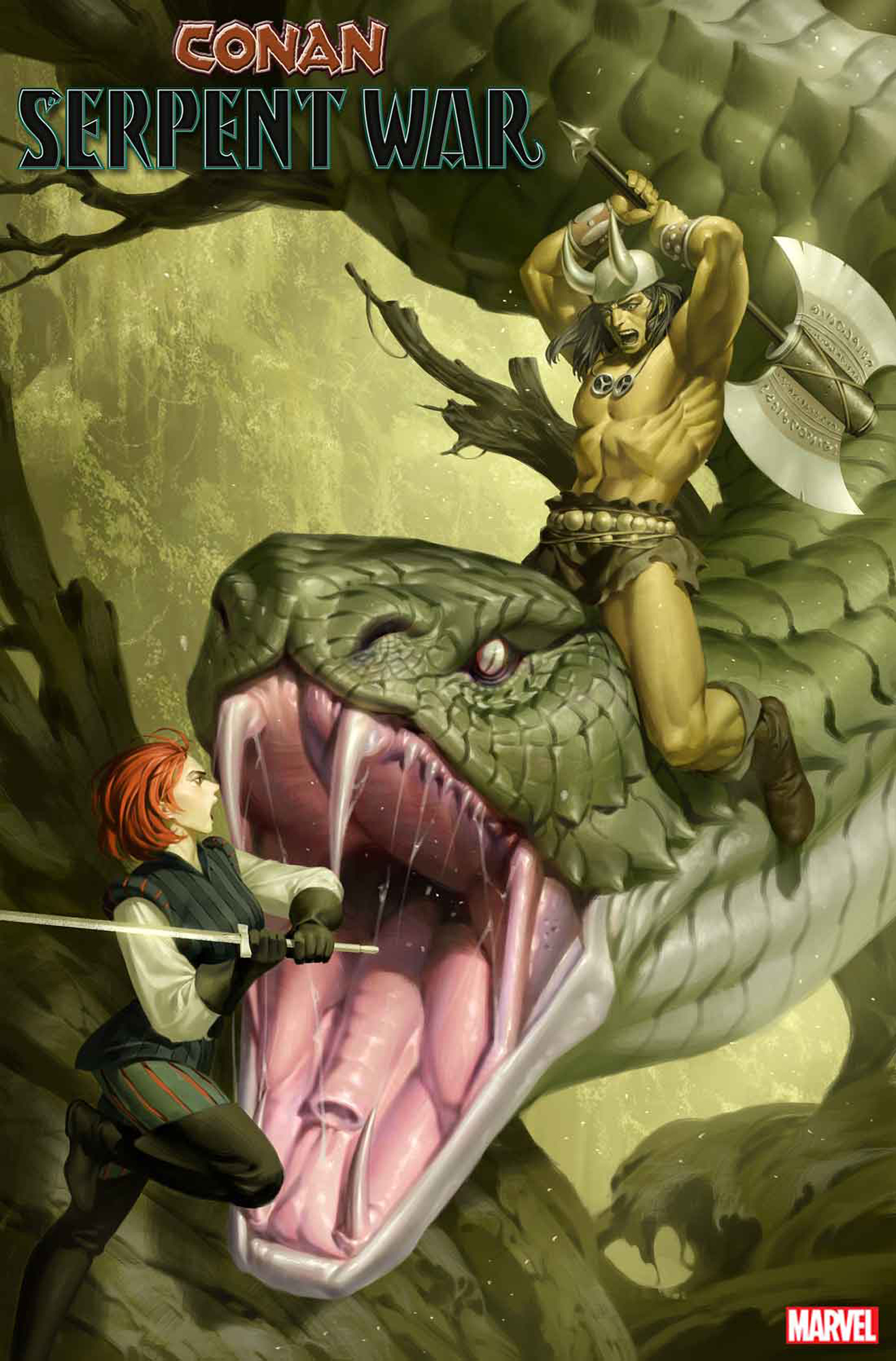 CONAN SERPENT WAR #2 (OF 4) YOON VAR