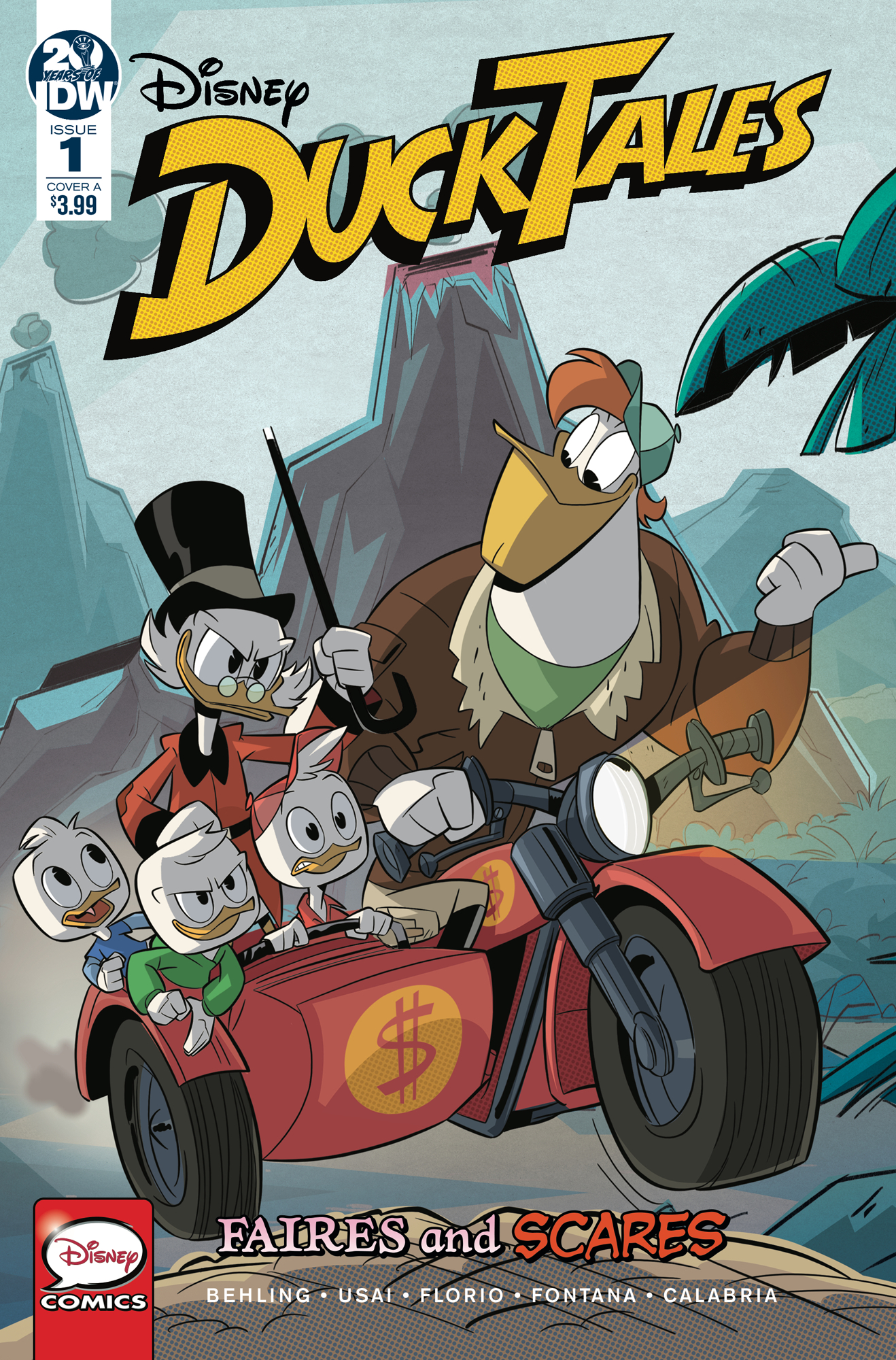 DUCKTALES FAIRES & SCARES #1 (OF 3) CVR A GHIGLIONE & STELLA