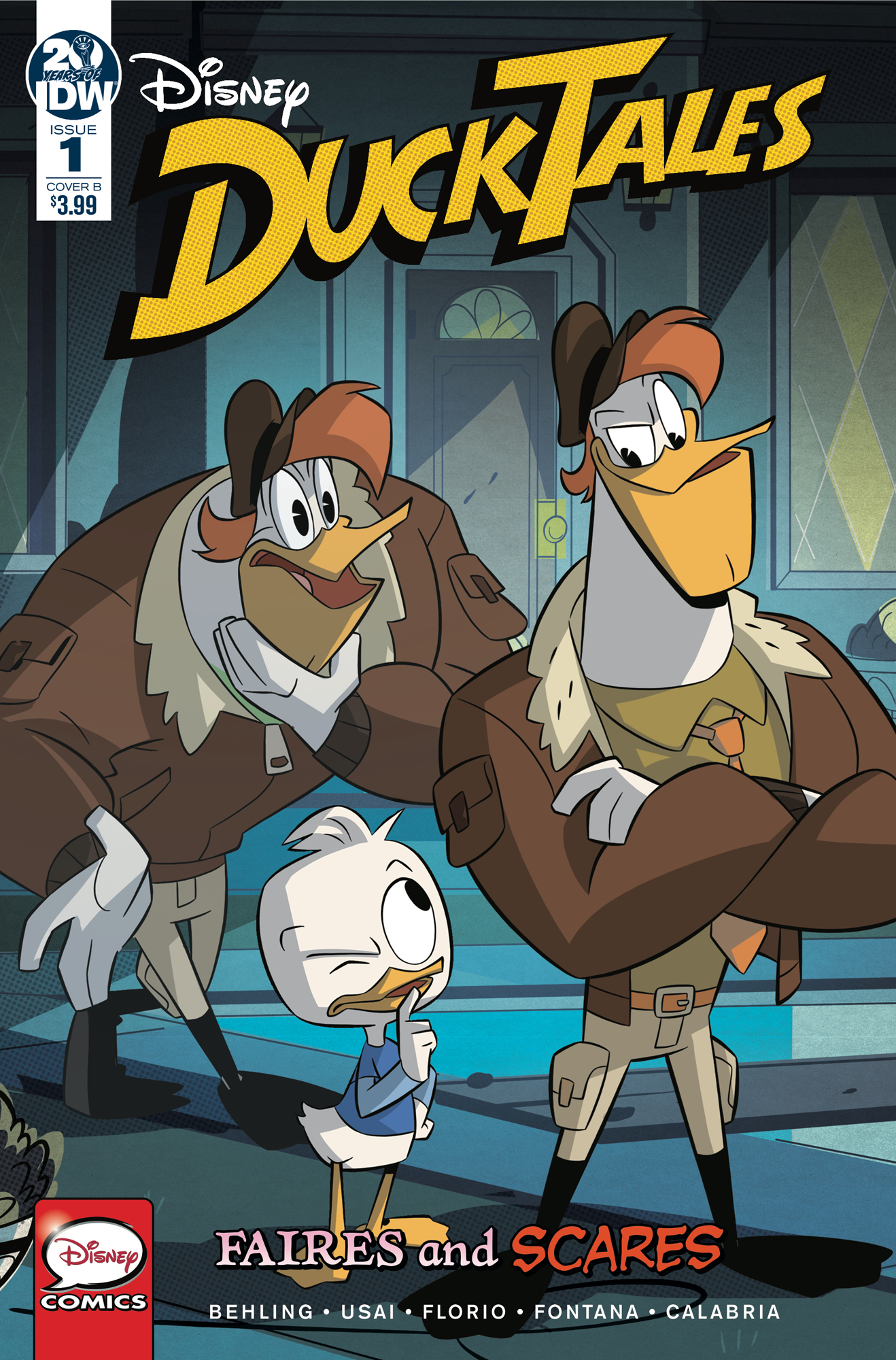DUCKTALES FAIRES & SCARES #1 (OF 3) CVR B GHILLONE & STELLA