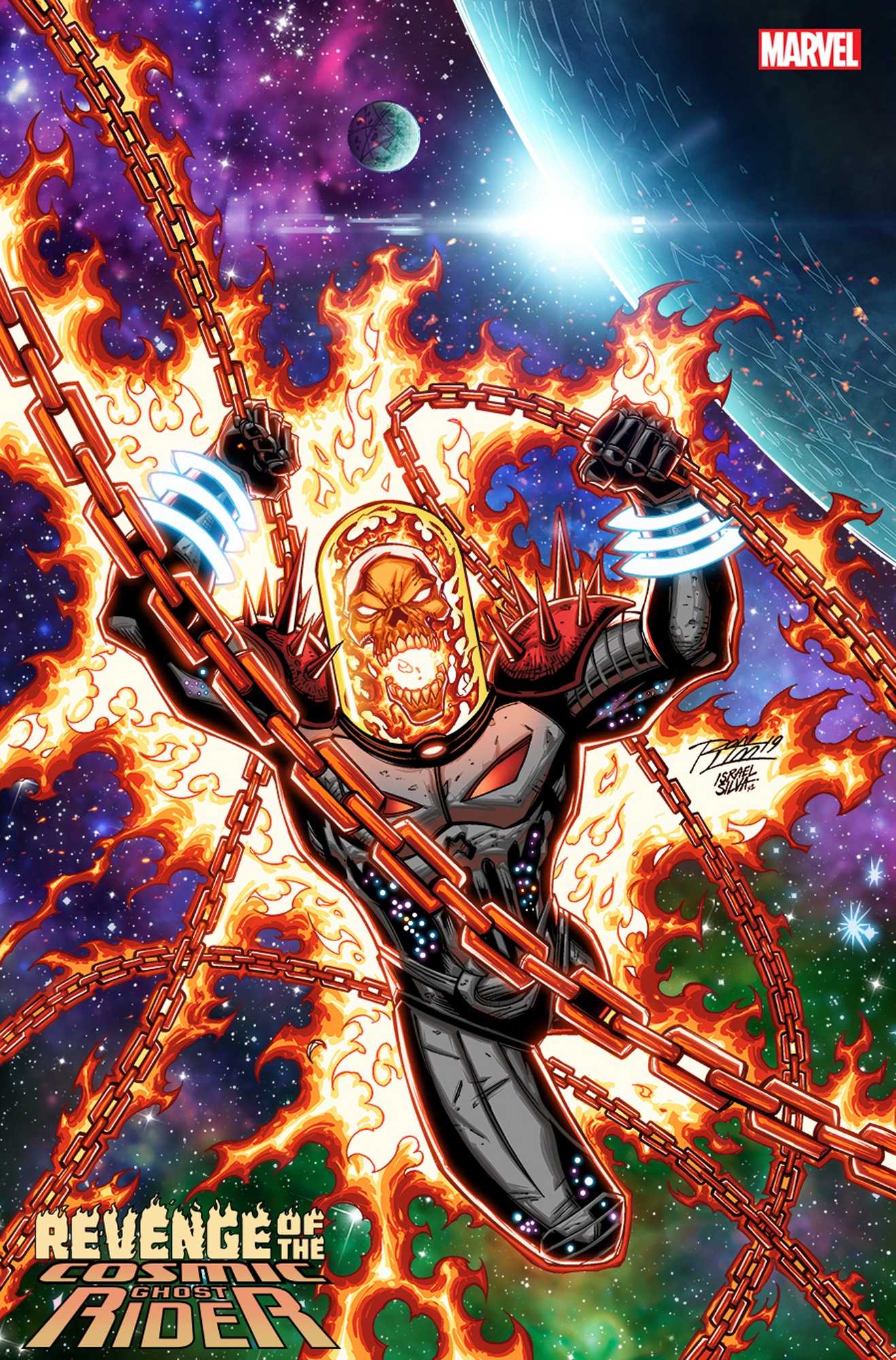 REVENGE OF COSMIC GHOST RIDER #1 (OF 5) RON LIM VAR