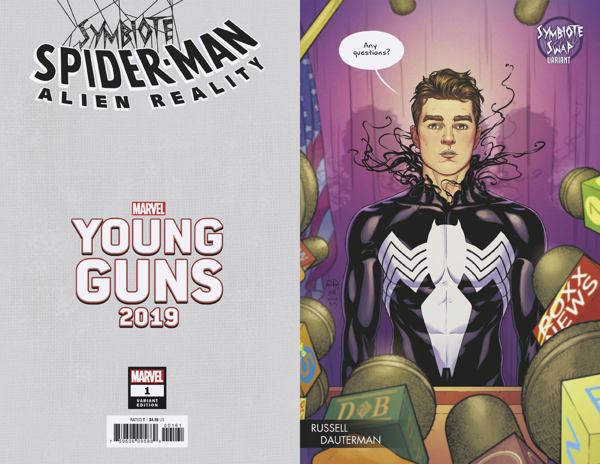 SYMBIOTE SPIDER-MAN ALIEN REALITY #1 (OF 5) DAUTERMAN YOUNG