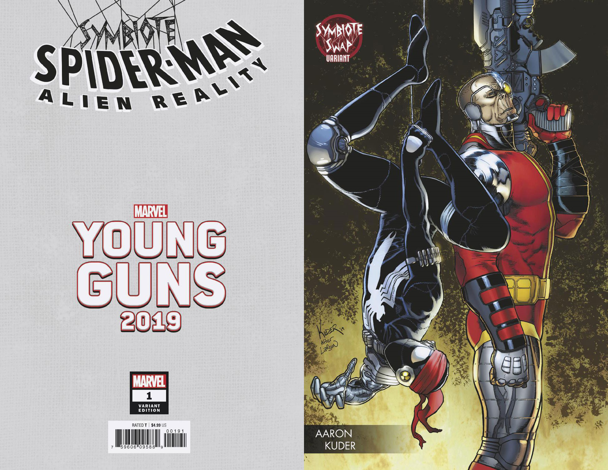 SYMBIOTE SPIDER-MAN ALIEN REALITY #1 (OF 5) KUDER YOUNG GUNS