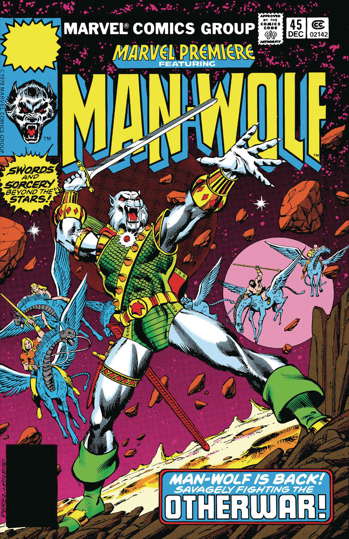 TRUE BELIEVERS ANNIHILATION MAN-WOLF IN SPACE #1