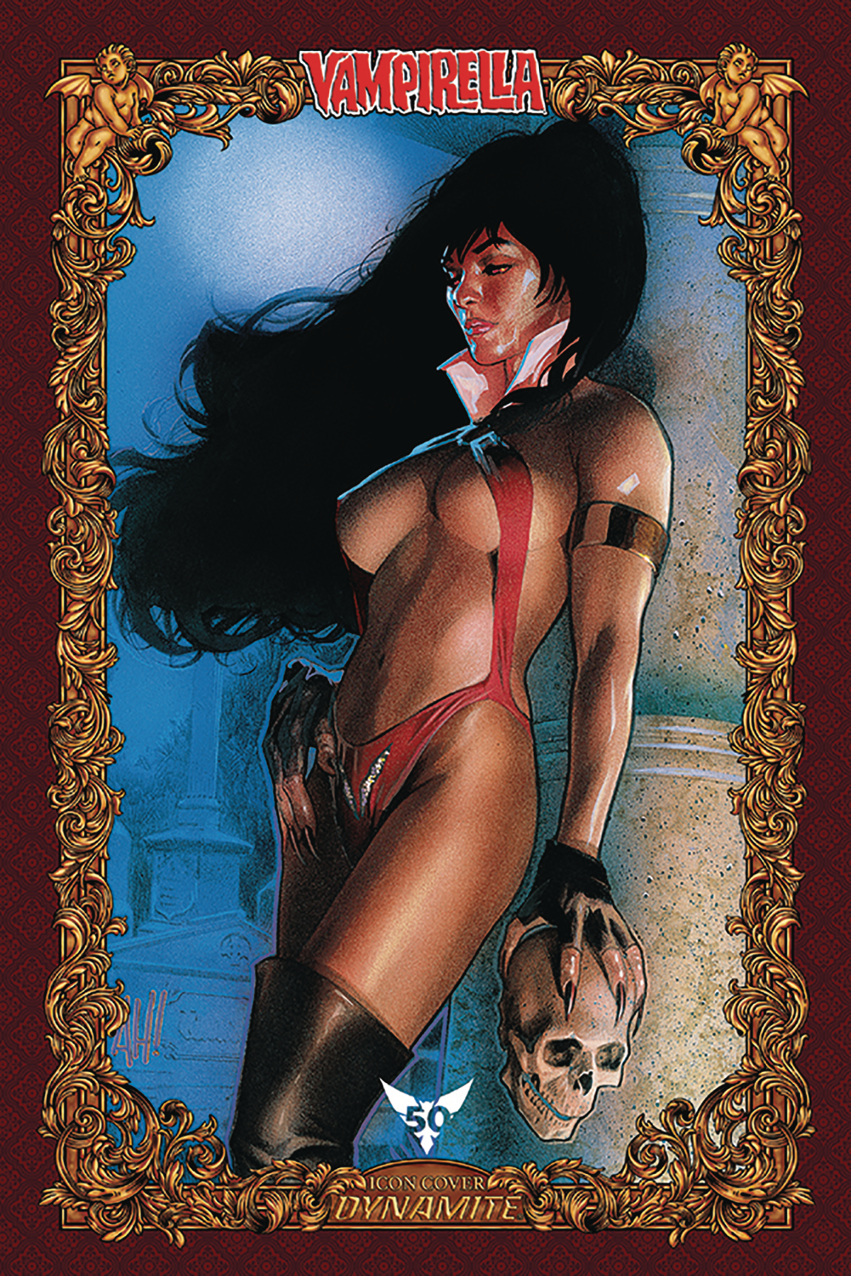 VAMPIRELLA #6 60 COPY HUGHES ICON INCV