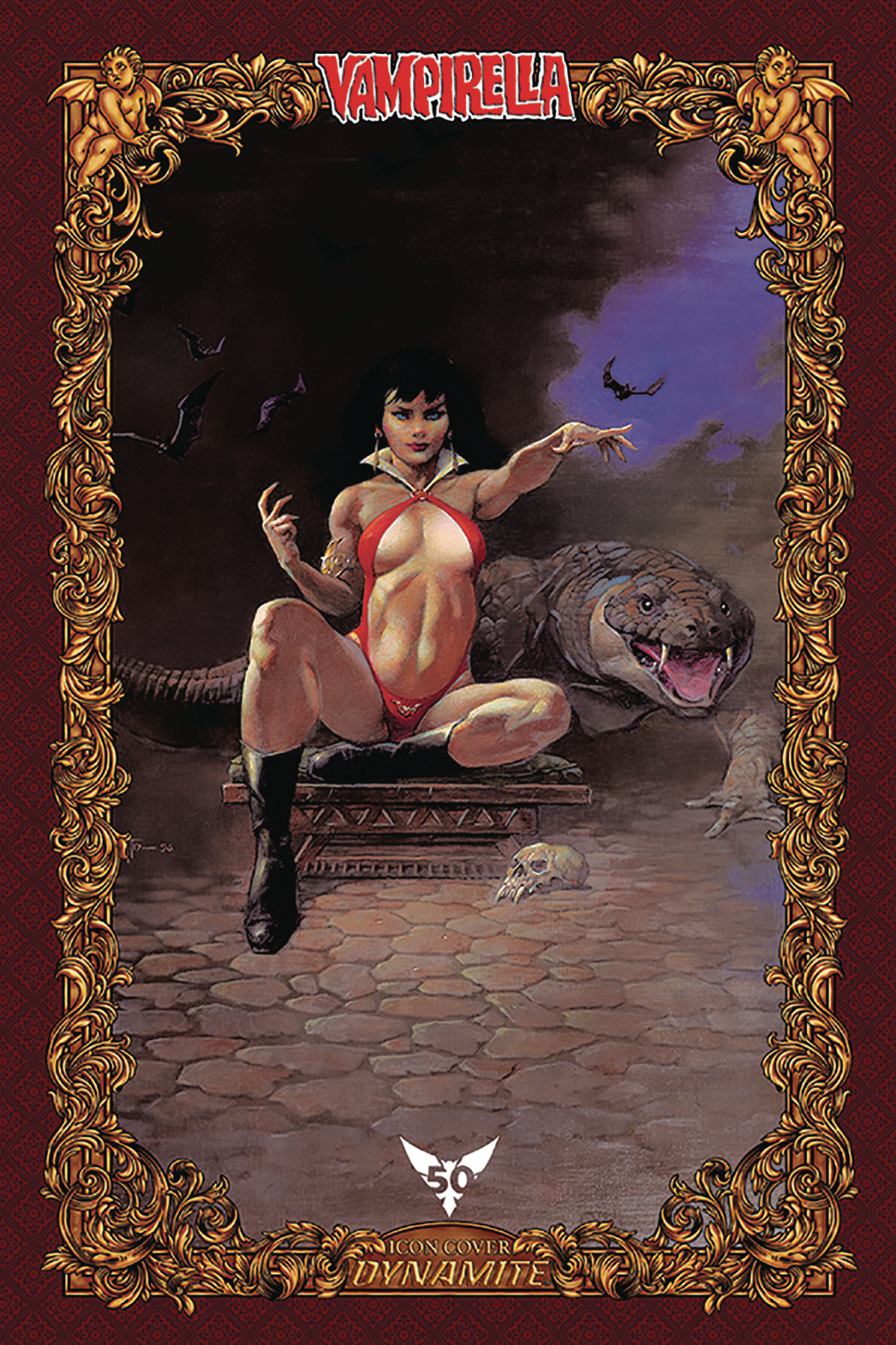 VAMPIRELLA #6 75 COPY FRAZETTA ICON INCV