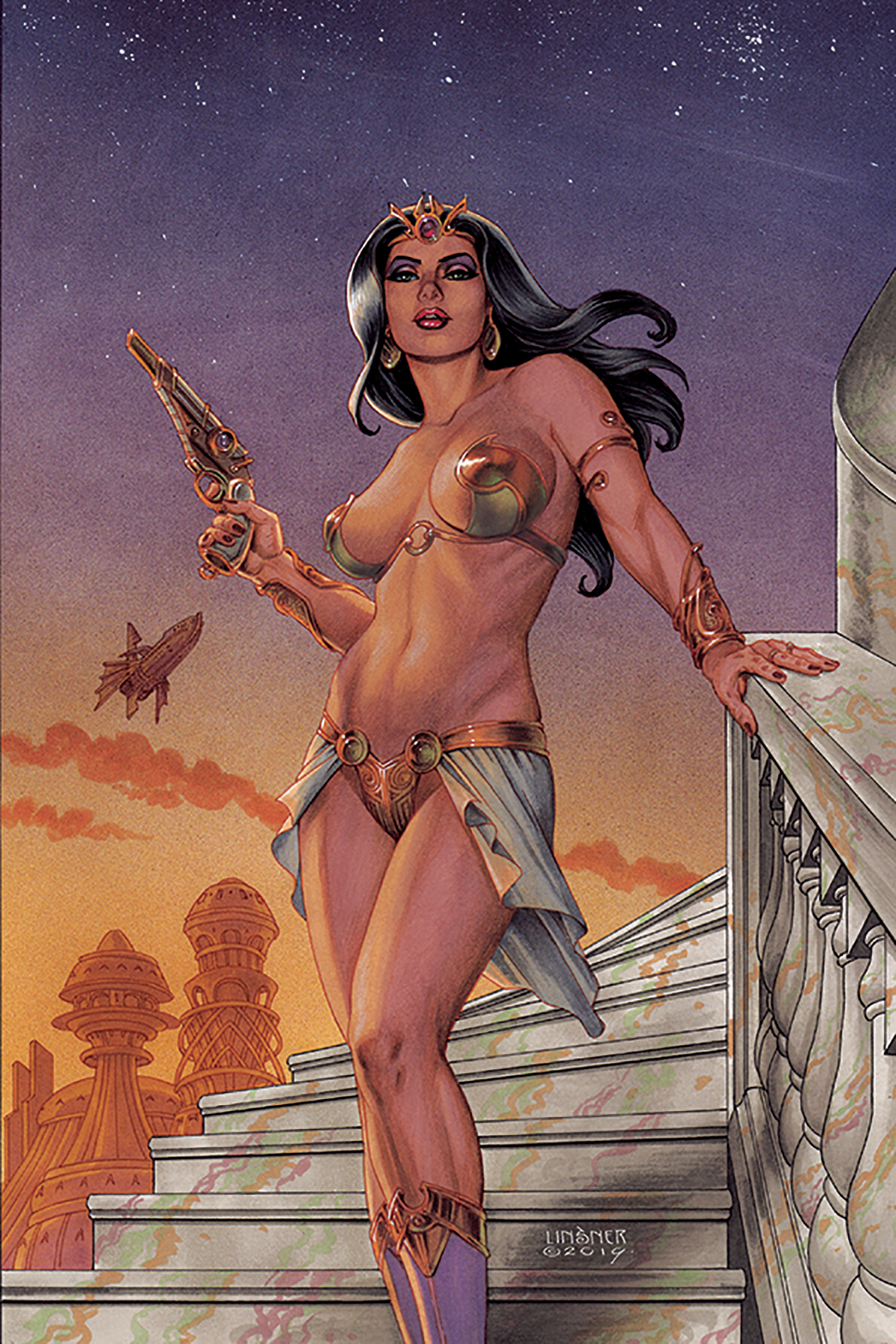 DEJAH THORIS (2019) #1 LINSNER LTD VIRGIN CVR
