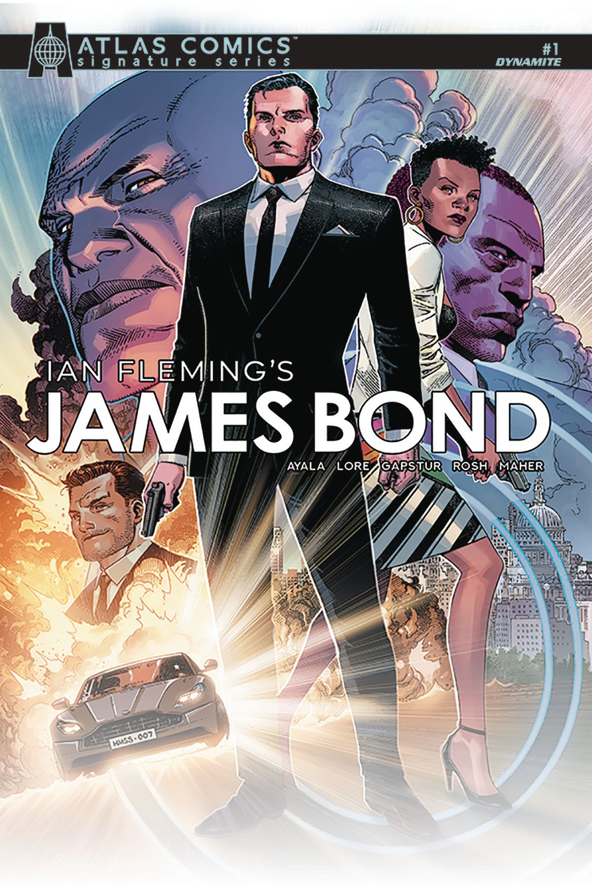 JAMES BOND #1 AYALA & LORE SGN ATLAS ED