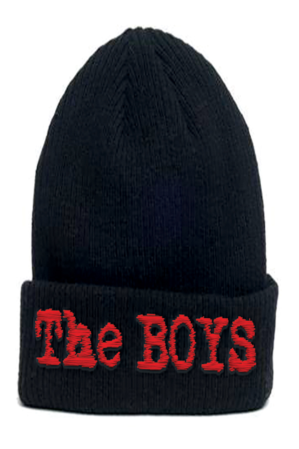 THE BOYS SERIES LOGO KNIT BEANIE