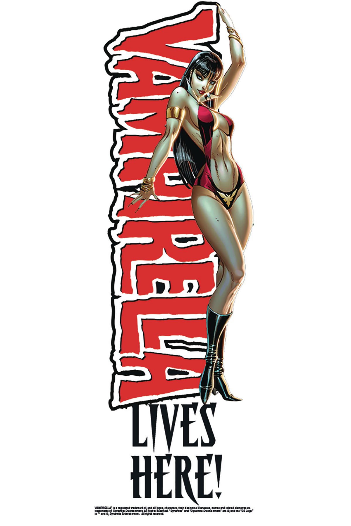VAMPIRELLA WINDOW CLING