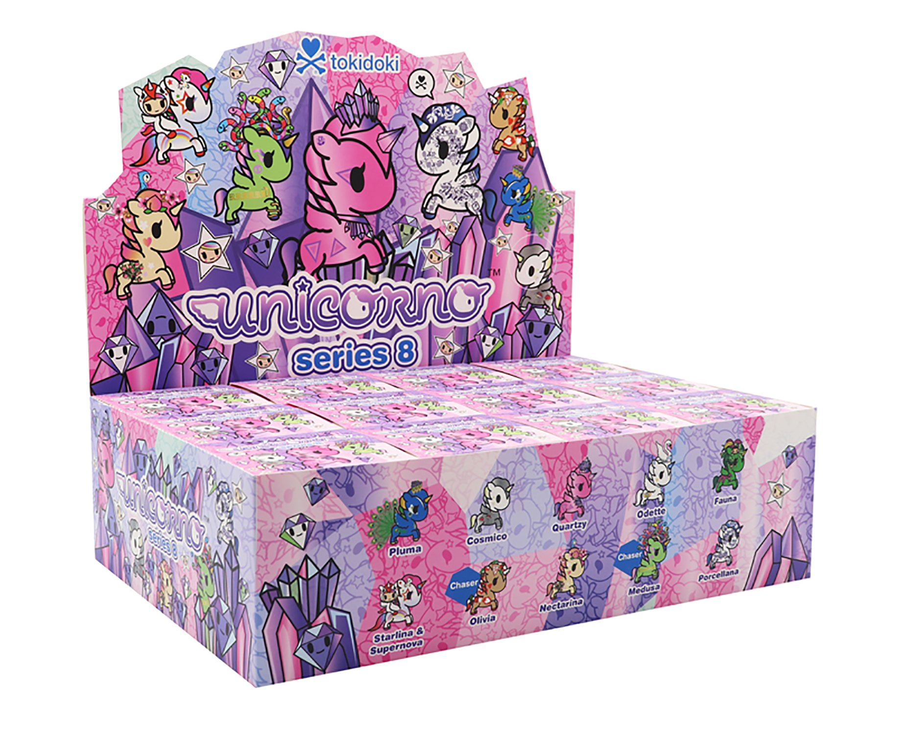 TOKIDOKI UNICORNO SERIES 8 12PC BMB DS