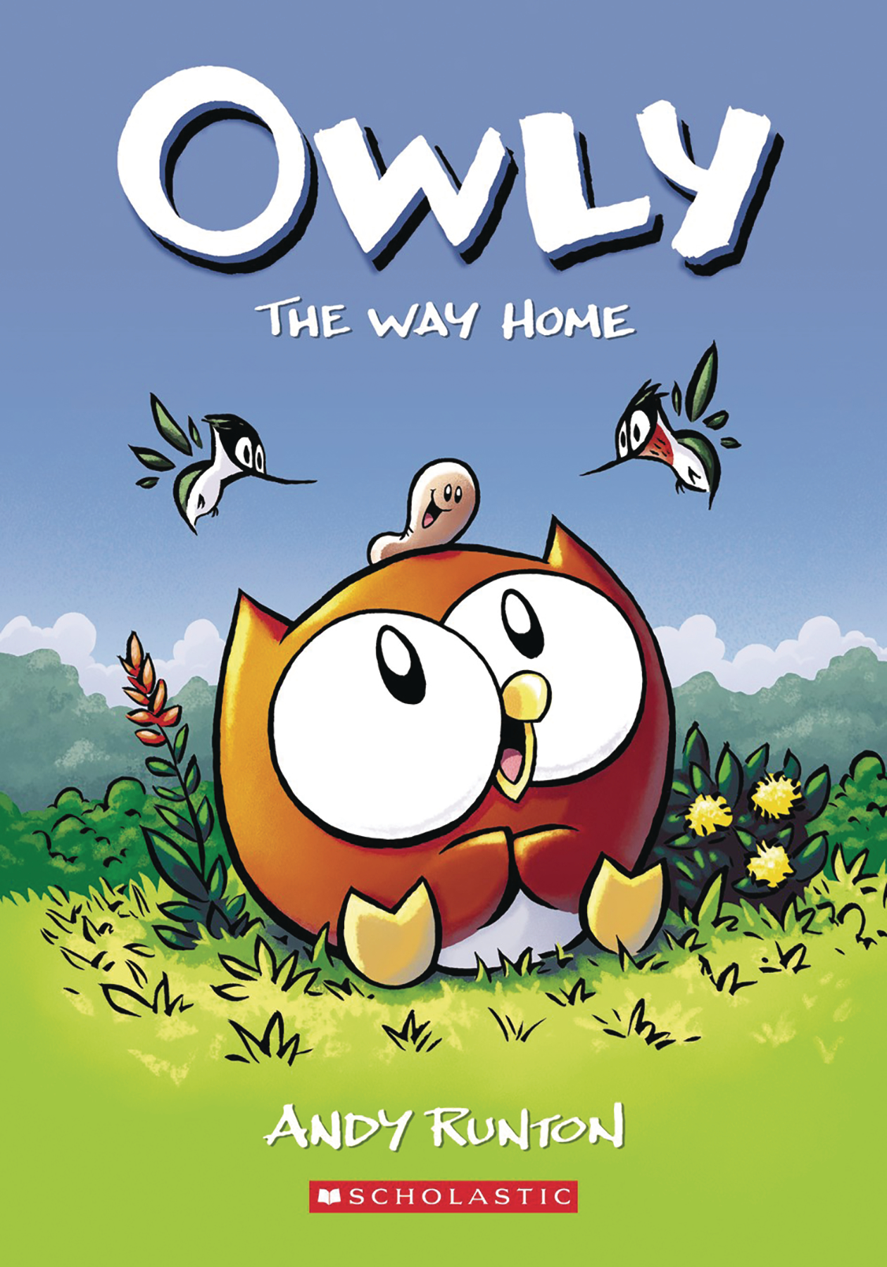 OWLY COLOR ED HC GN VOL 01 WAY HOME